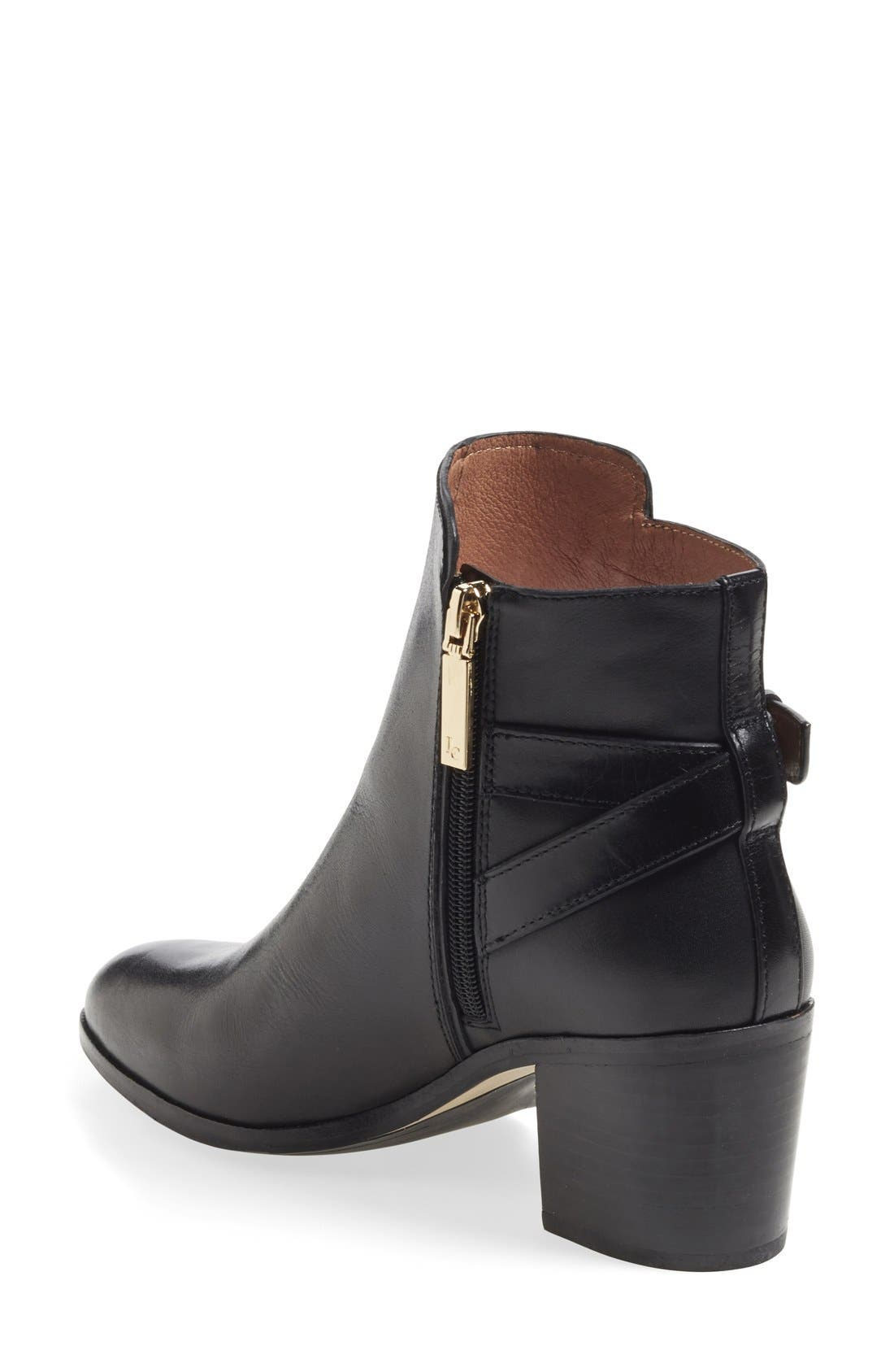 'Zalia' Ankle Bootie,                             Alternate thumbnail 2, color,                             001