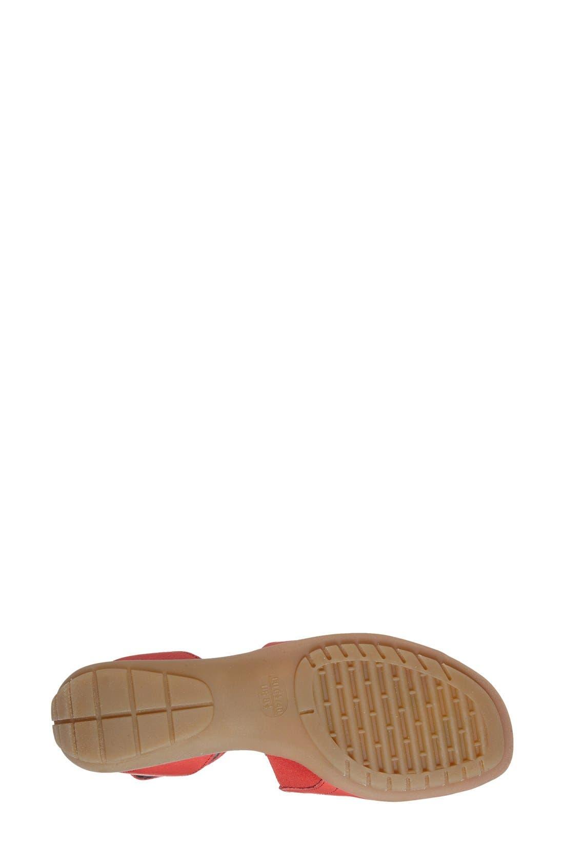 'Beglad' Leather Ankle Strap Sandal,                             Alternate thumbnail 64, color,