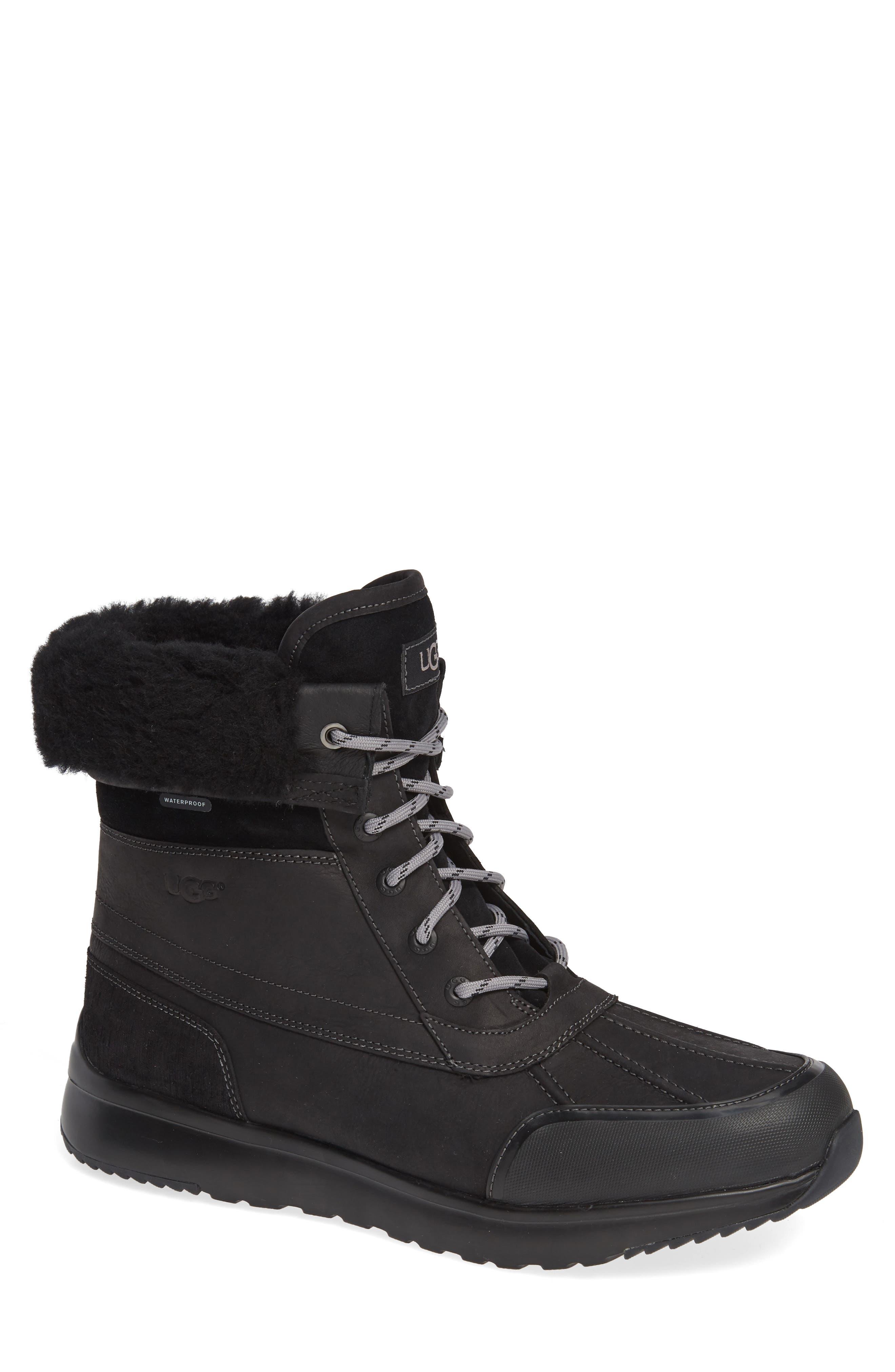 Ugg Eliasson Waterproof Snow Boot, Black