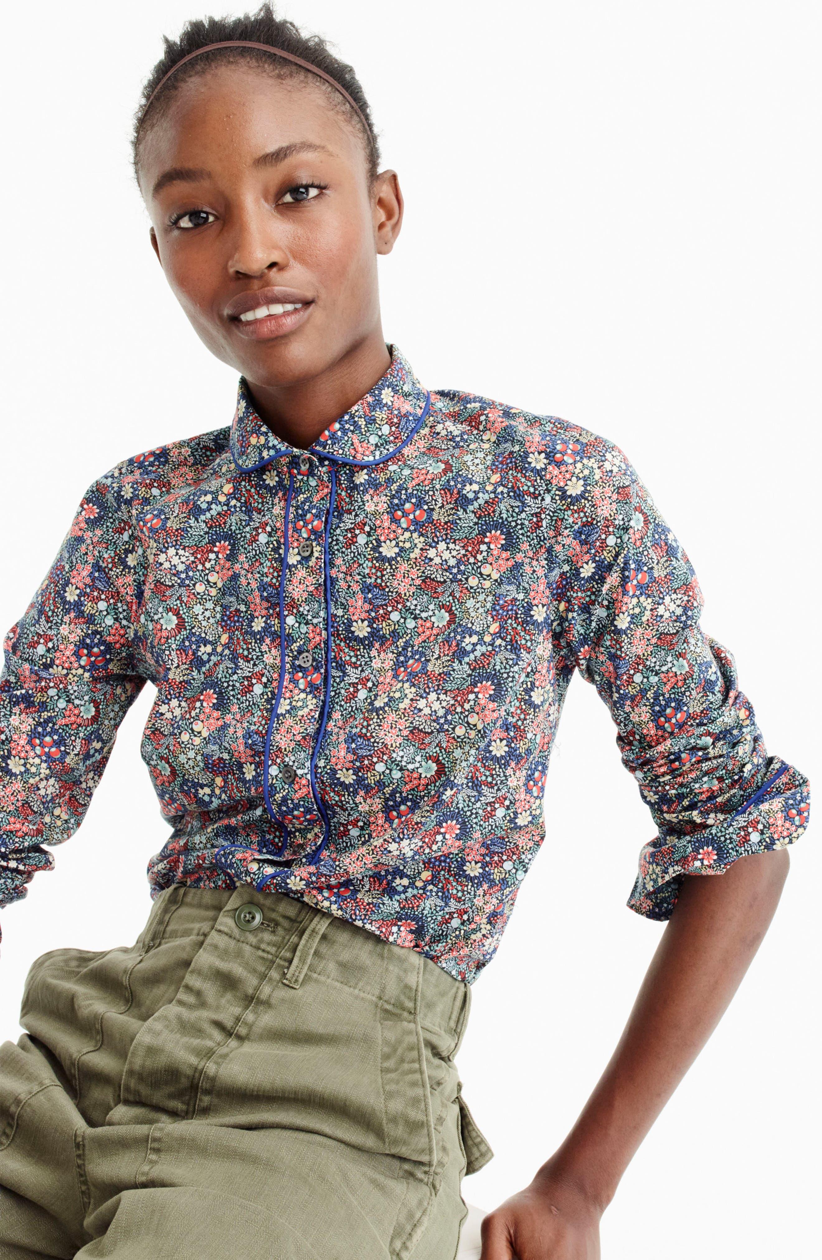 Club Collar Perfect Shirt,                             Alternate thumbnail 3, color,                             400