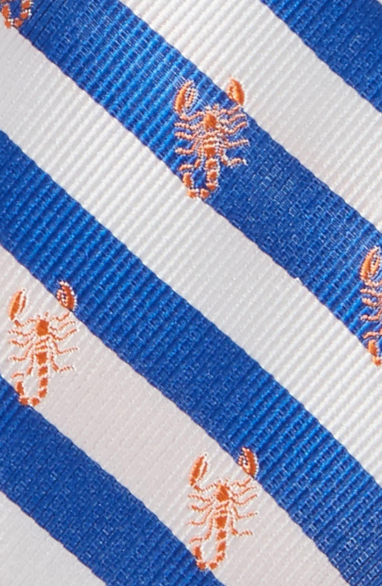 Scorpion Stripe Silk Tie,                             Alternate thumbnail 2, color,                             411