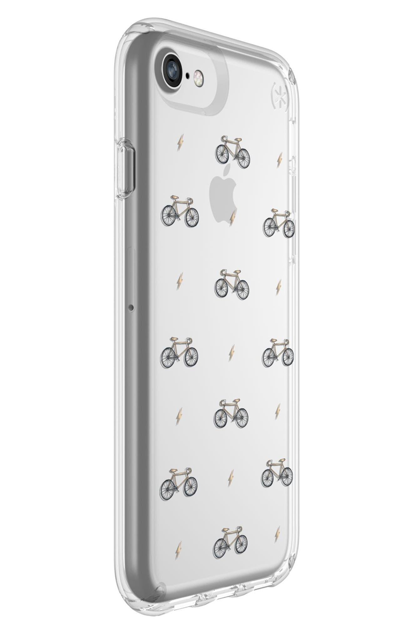 Transparent Bikes & Bolts iPhone 6/6s/7/8 Case,                             Alternate thumbnail 7, color,                             798