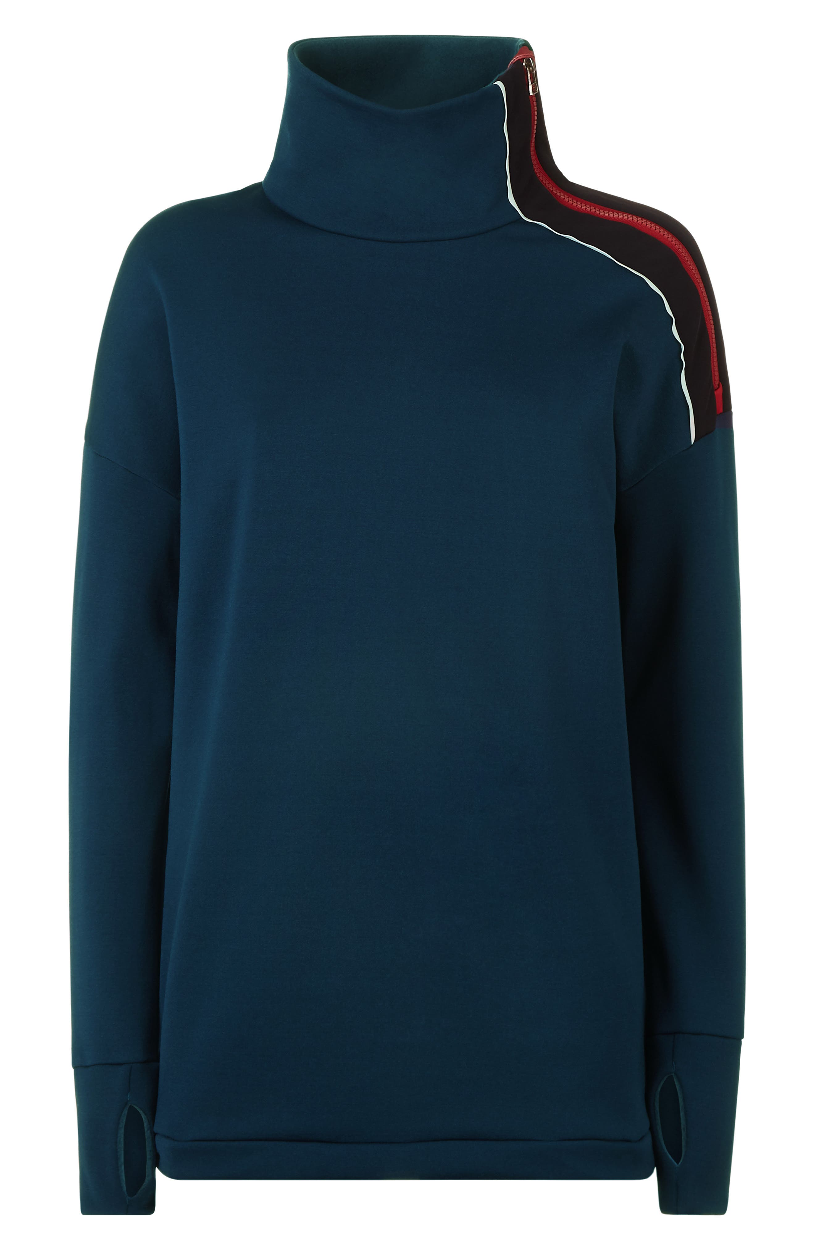 Infield Thermal Pullover,                             Alternate thumbnail 6, color,                             400