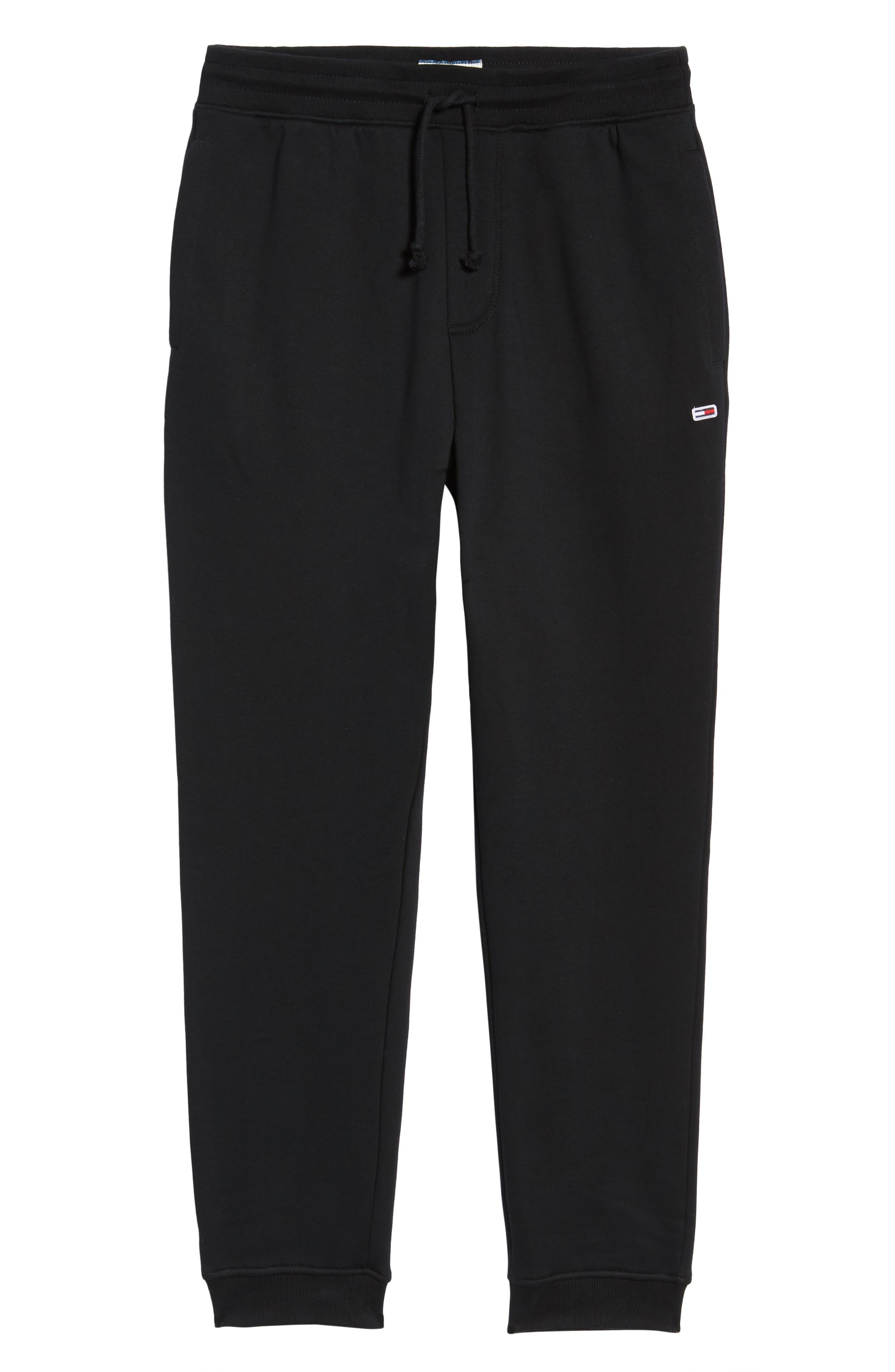 TJM Classics Sweatpants,                             Alternate thumbnail 6, color,                             TOMMY BLACK