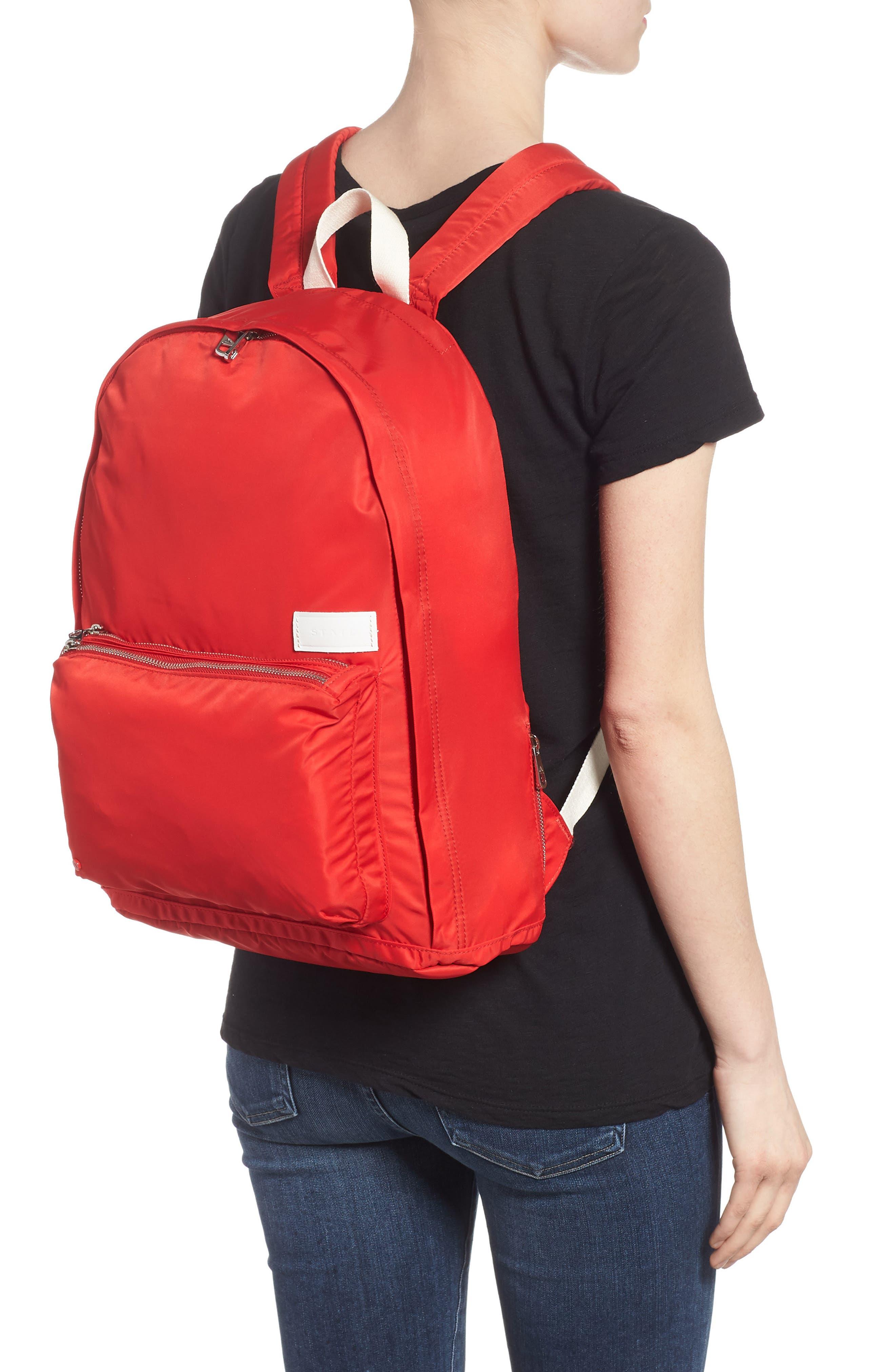 Heights Lorimer Nylon Backpack,                             Alternate thumbnail 2, color,                             RED