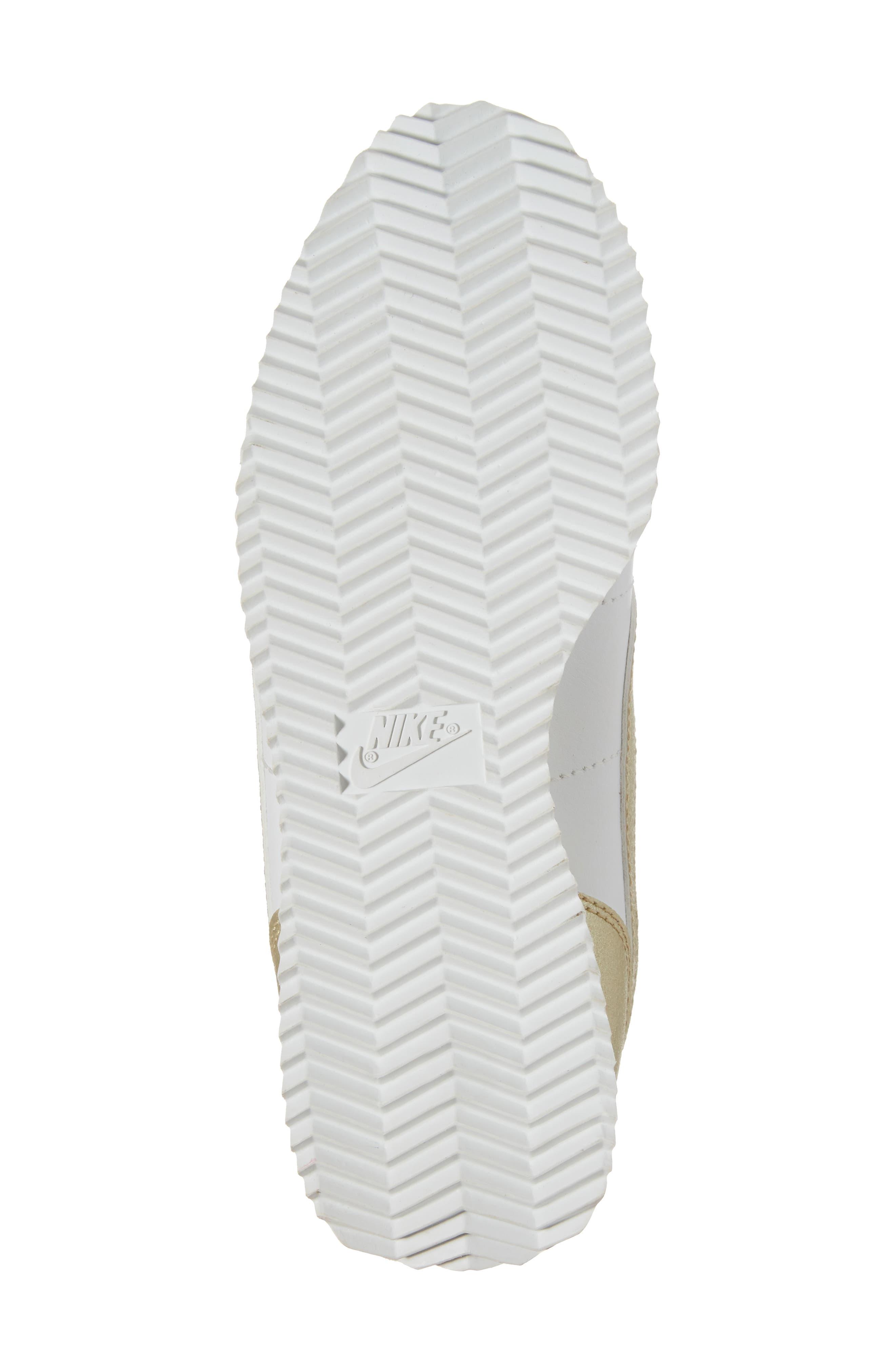Cortez Basic SE Sneaker,                             Alternate thumbnail 6, color,                             101