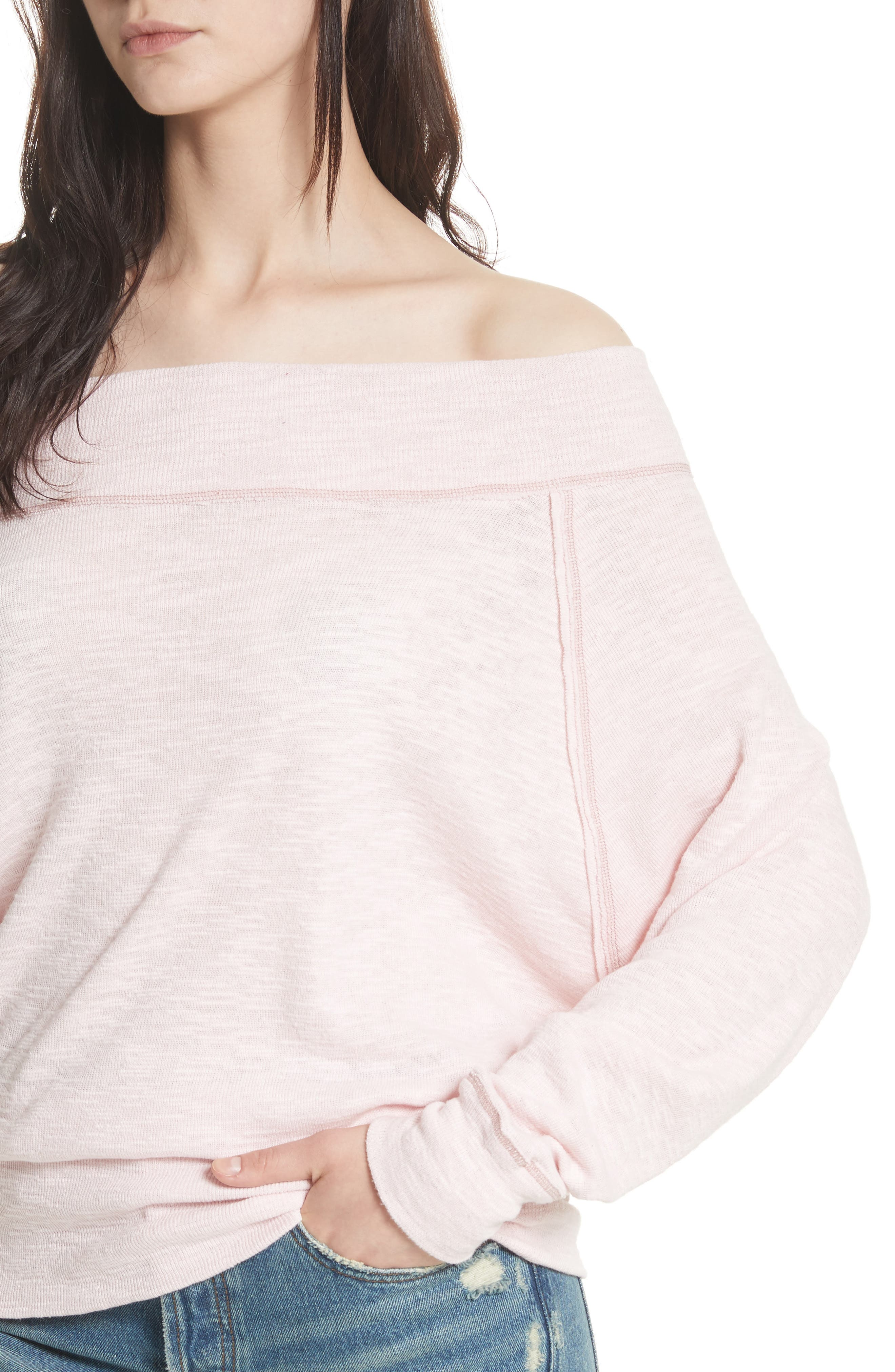 Palisades Off the Shoulder Top,                             Alternate thumbnail 33, color,