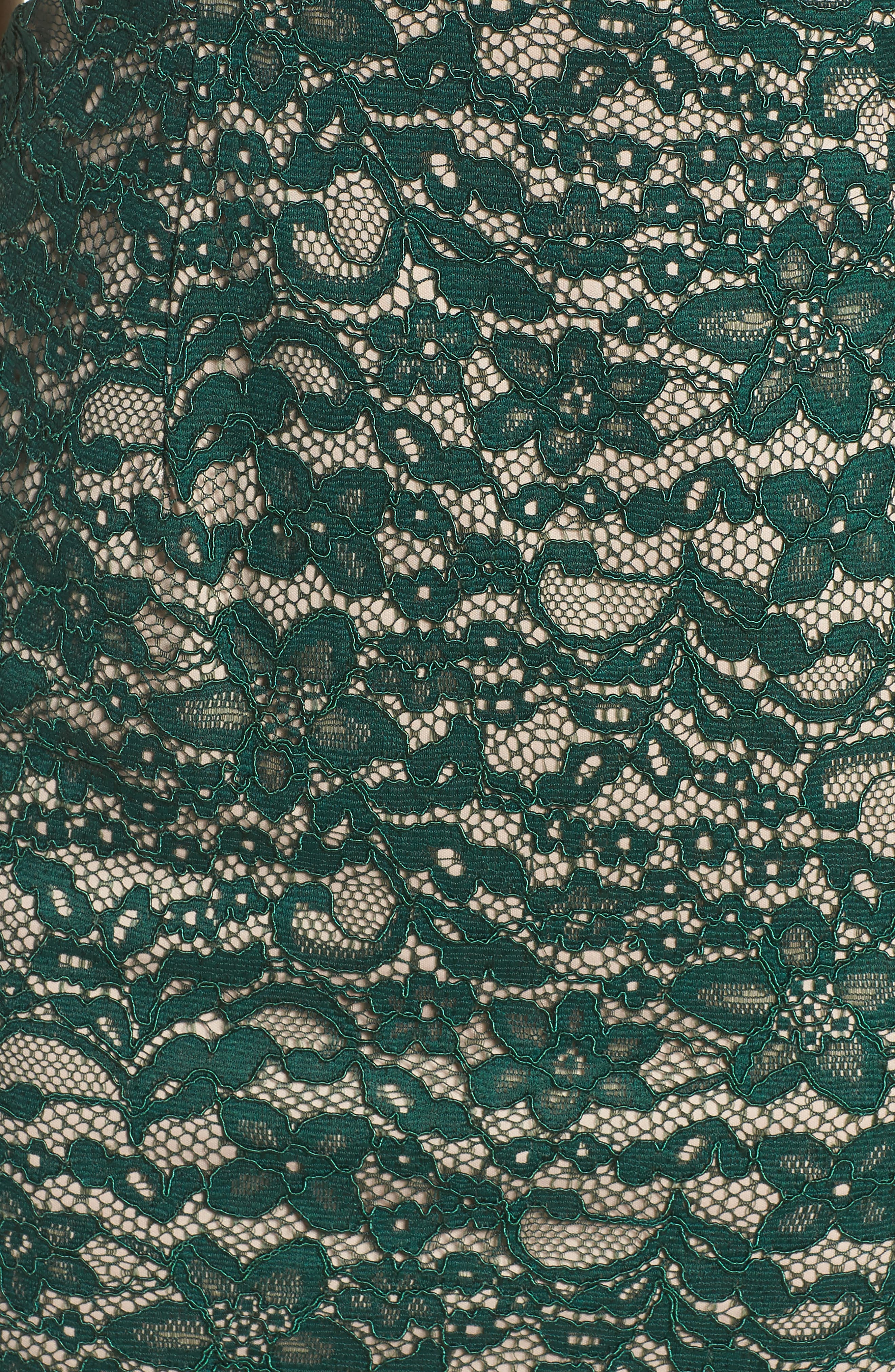 Aubrey Lace Sheath Dress,                             Alternate thumbnail 5, color,                             303