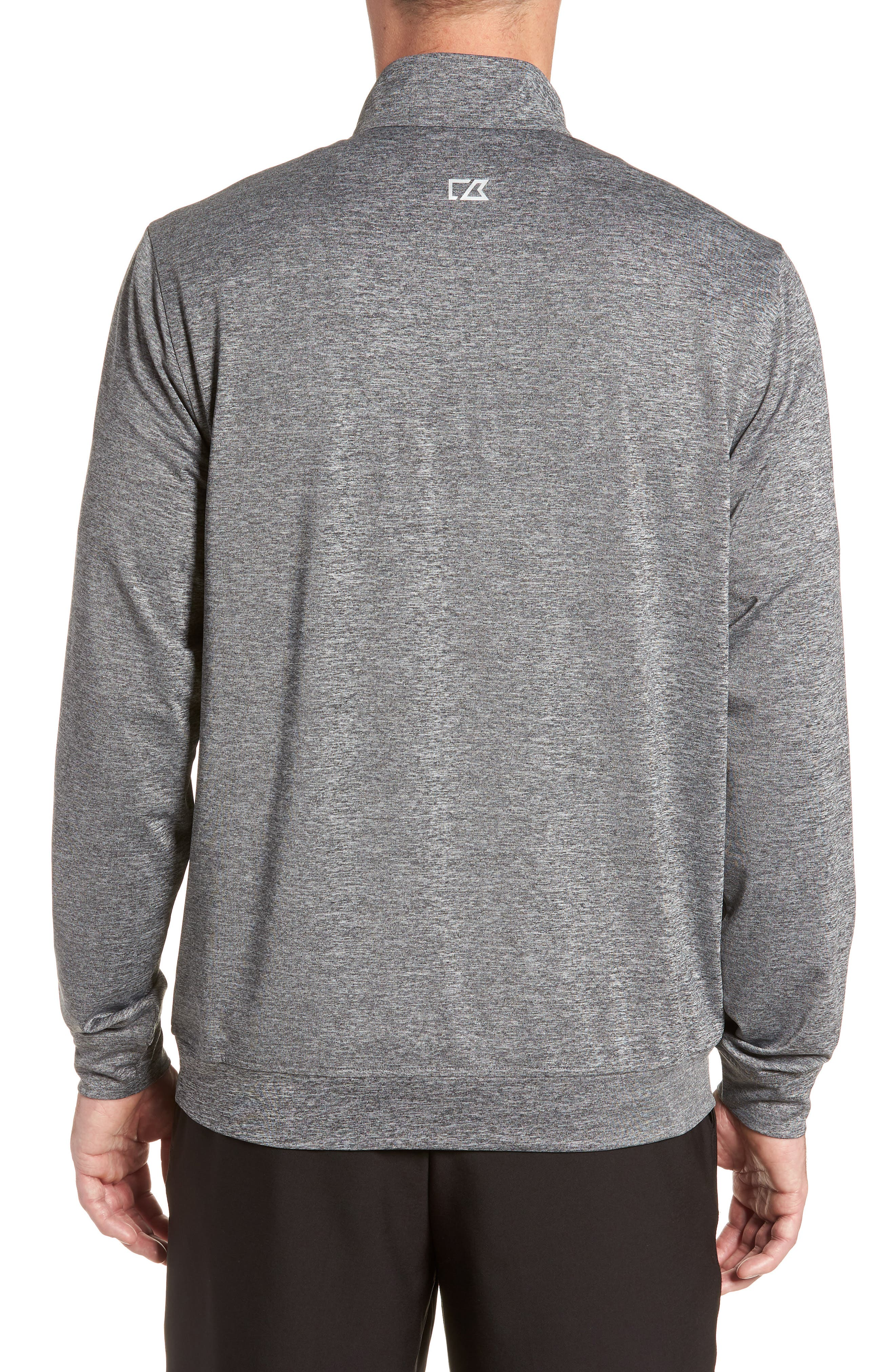 Stealth Regular Fit Half Zip Pullover,                             Alternate thumbnail 2, color,                             ELEMENTAL GREY