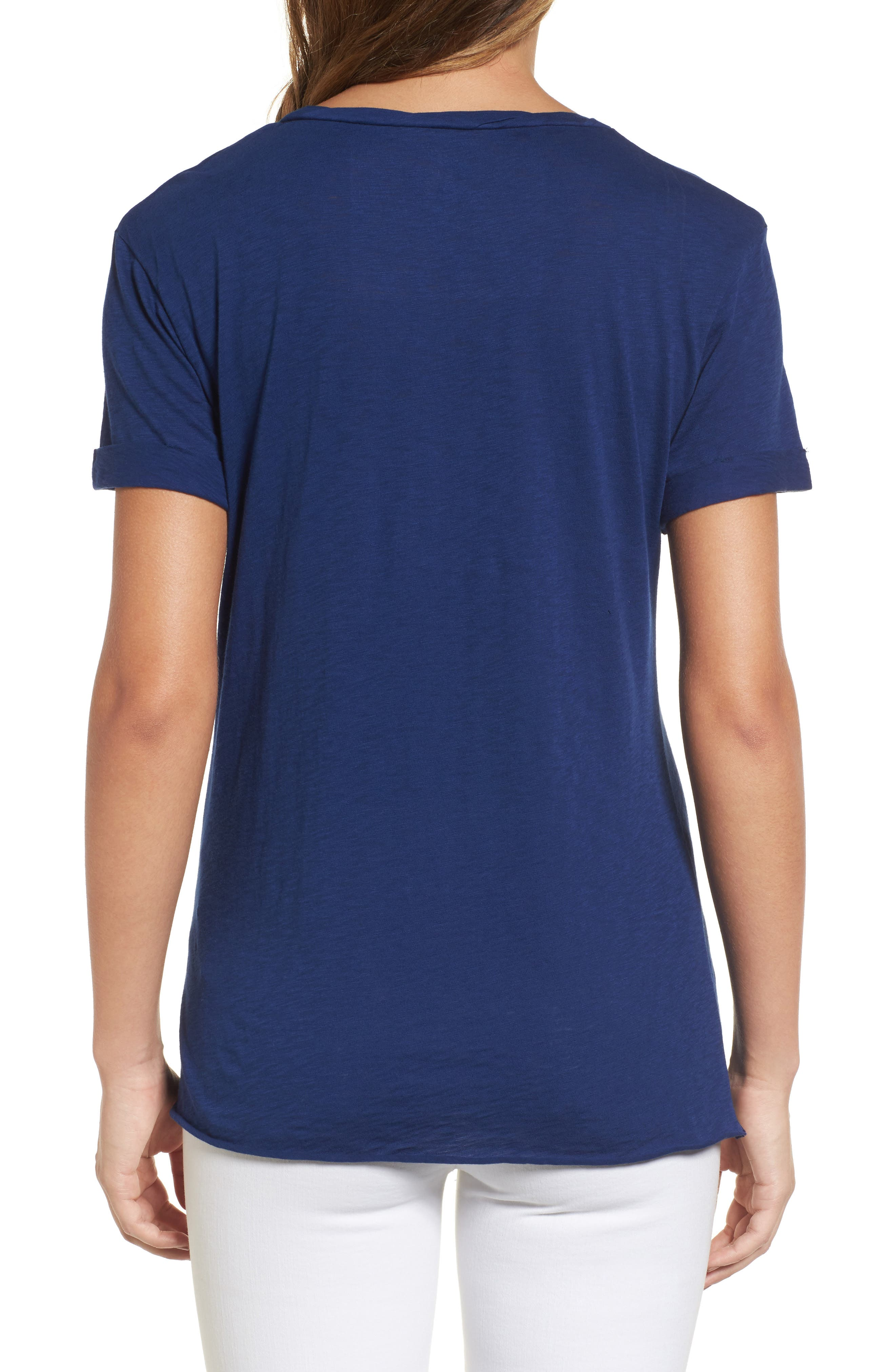 Knotted Tee,                             Alternate thumbnail 20, color,