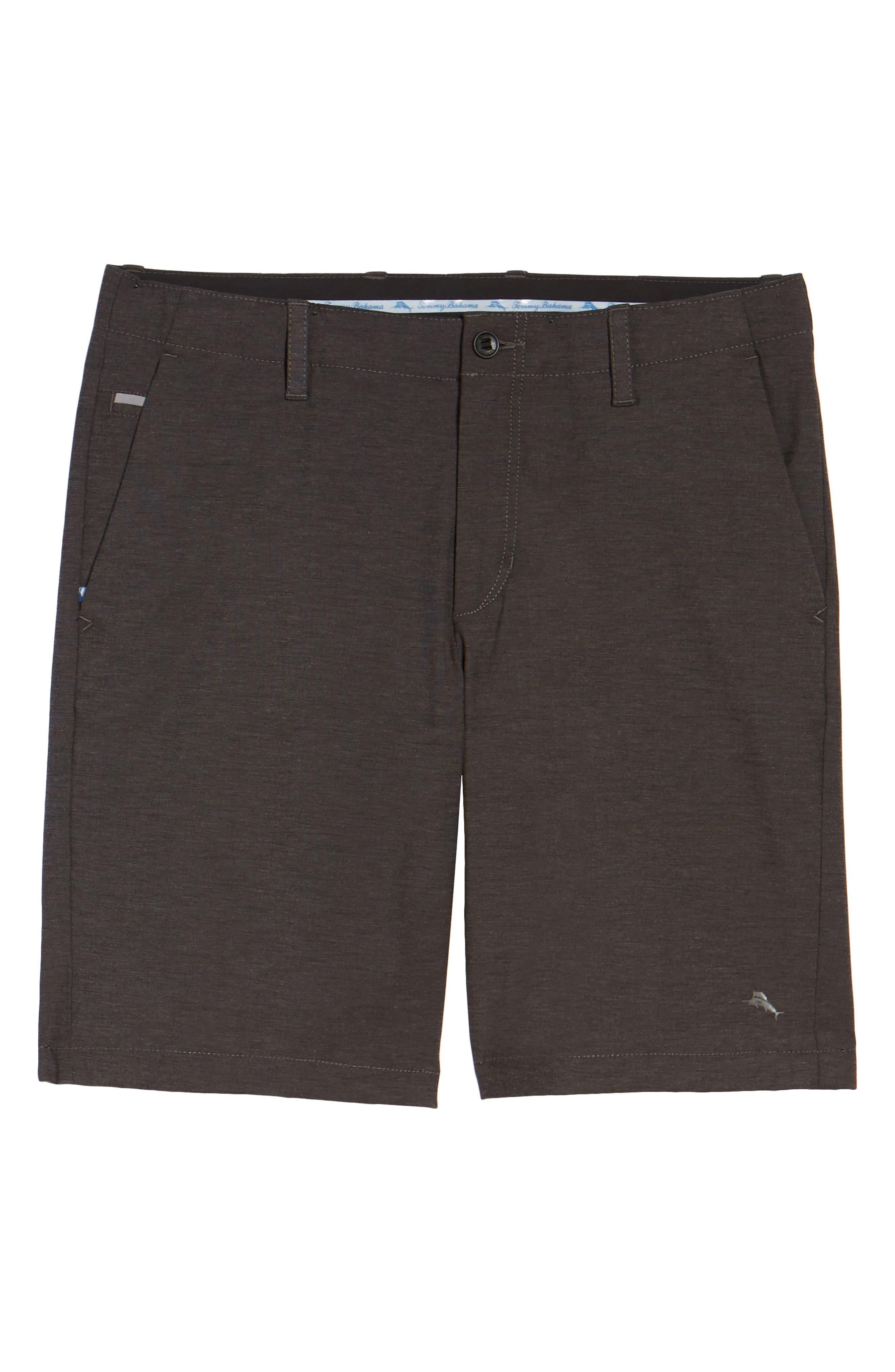 Chip & Run Shorts,                             Alternate thumbnail 6, color,                             BLACK