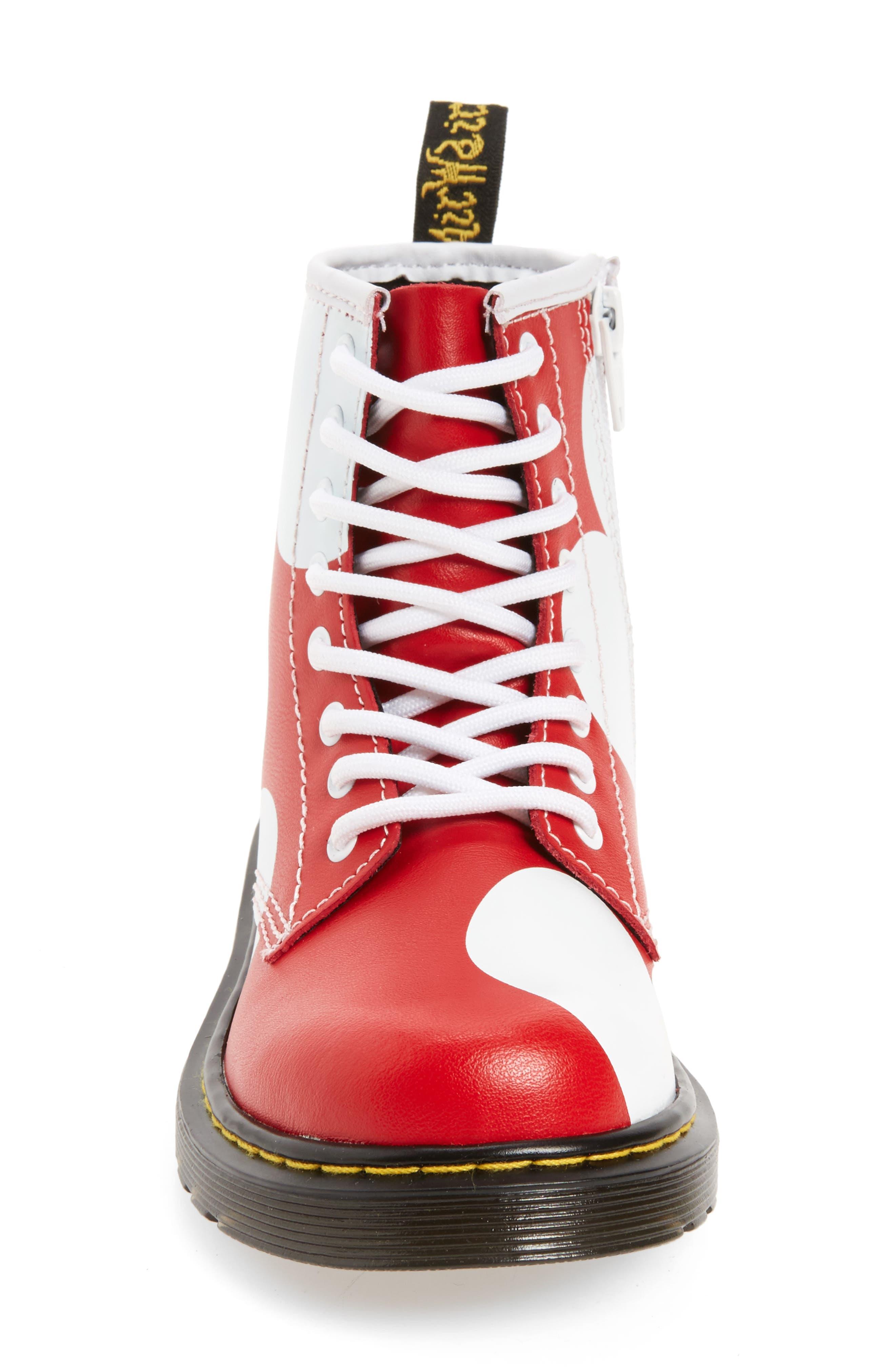 Delaney Heart Boot,                             Alternate thumbnail 3, color,                             602