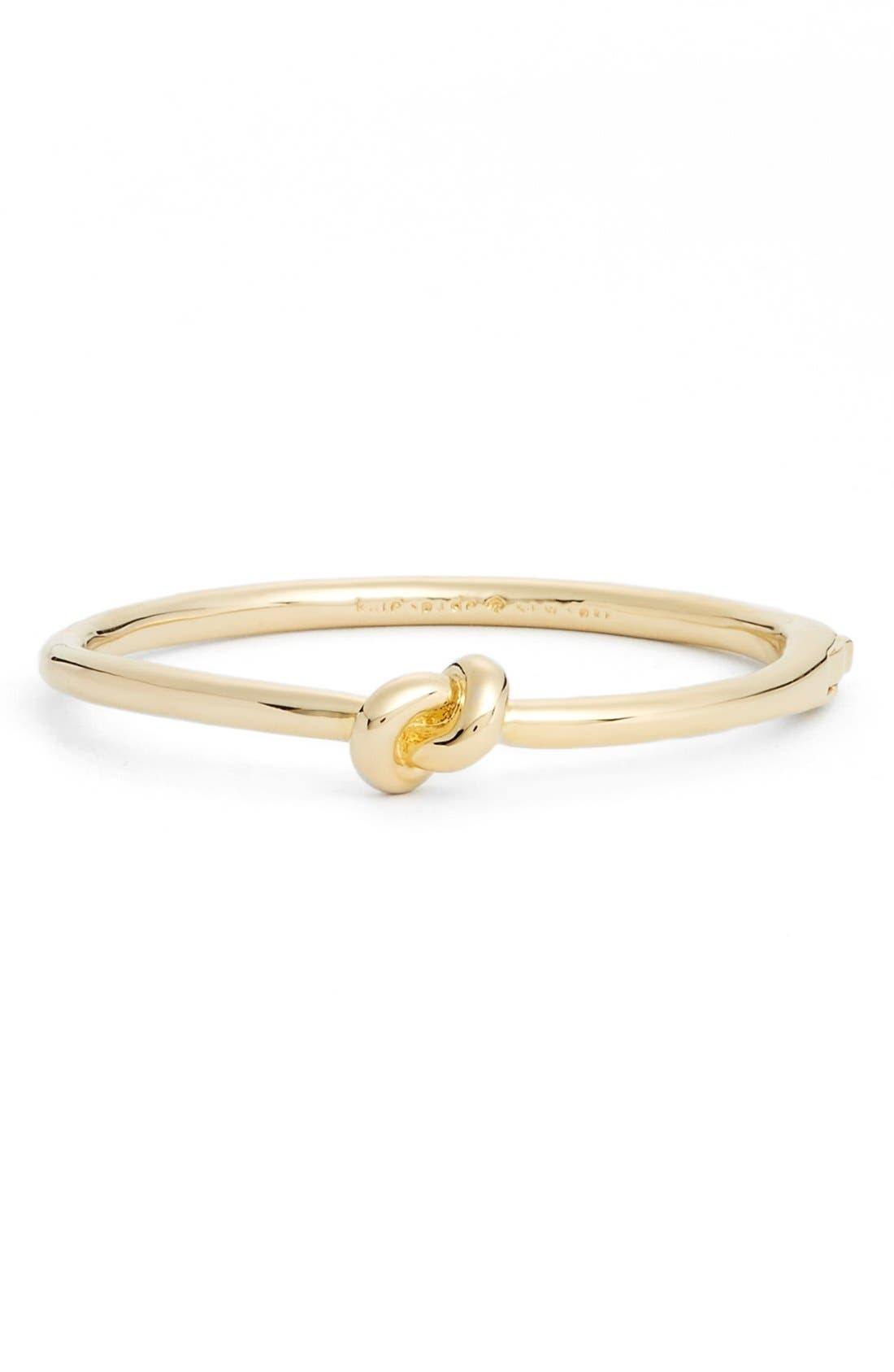 'sailors knot' bangle,                             Main thumbnail 1, color,                             GOLD
