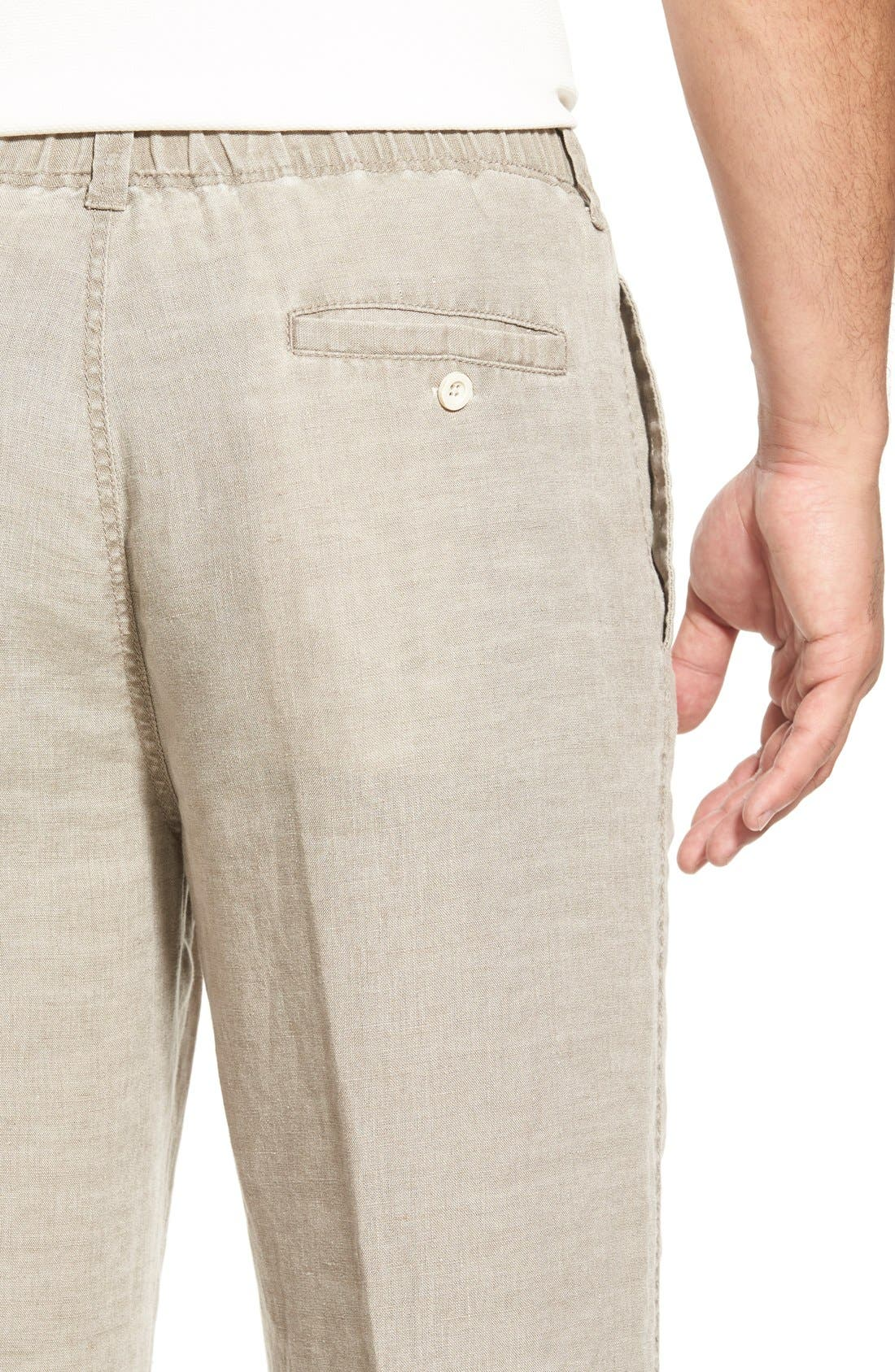 'New Linen on the Beach' Easy Fit Pants,                             Alternate thumbnail 24, color,