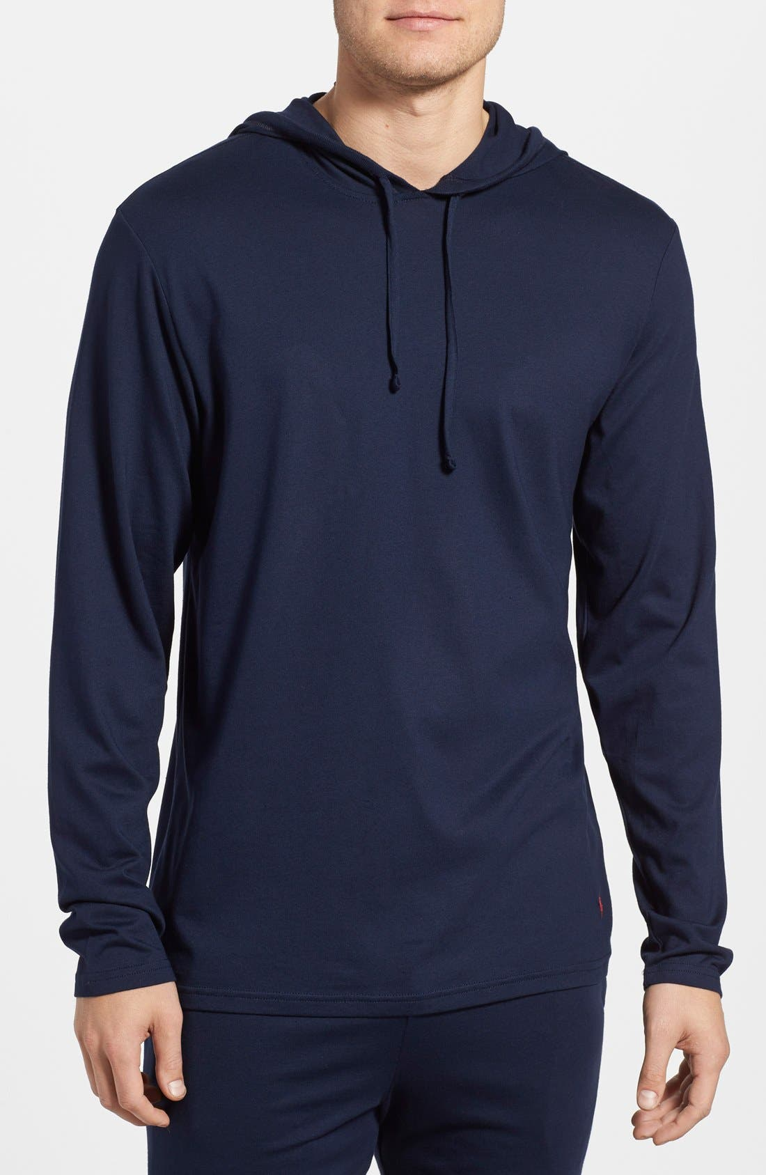 Pullover Hoodie,                         Main,                         color, CRUISE NAVY