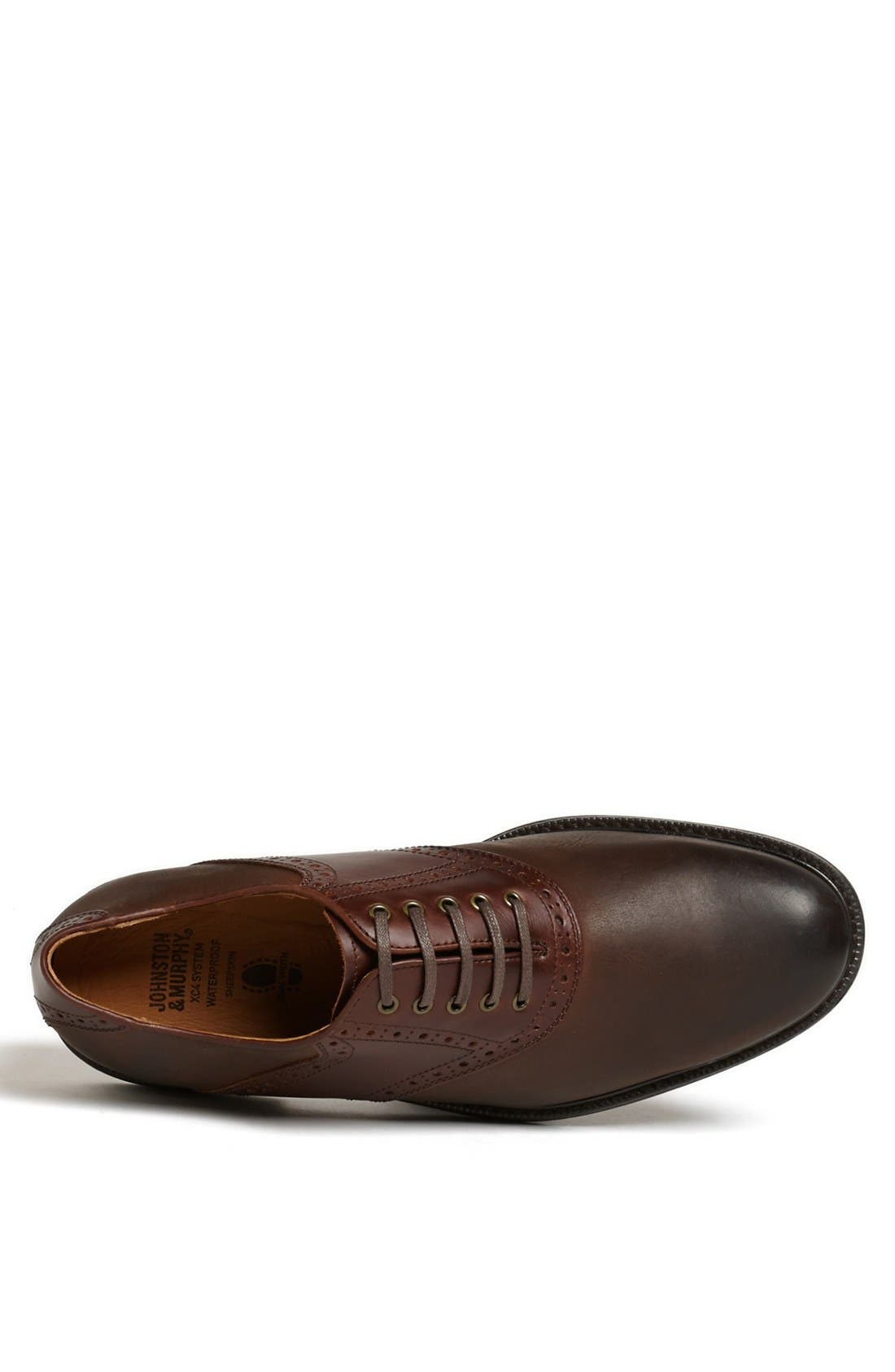 'Cardell' Waterproof Saddle Oxford,                             Alternate thumbnail 3, color,                             200
