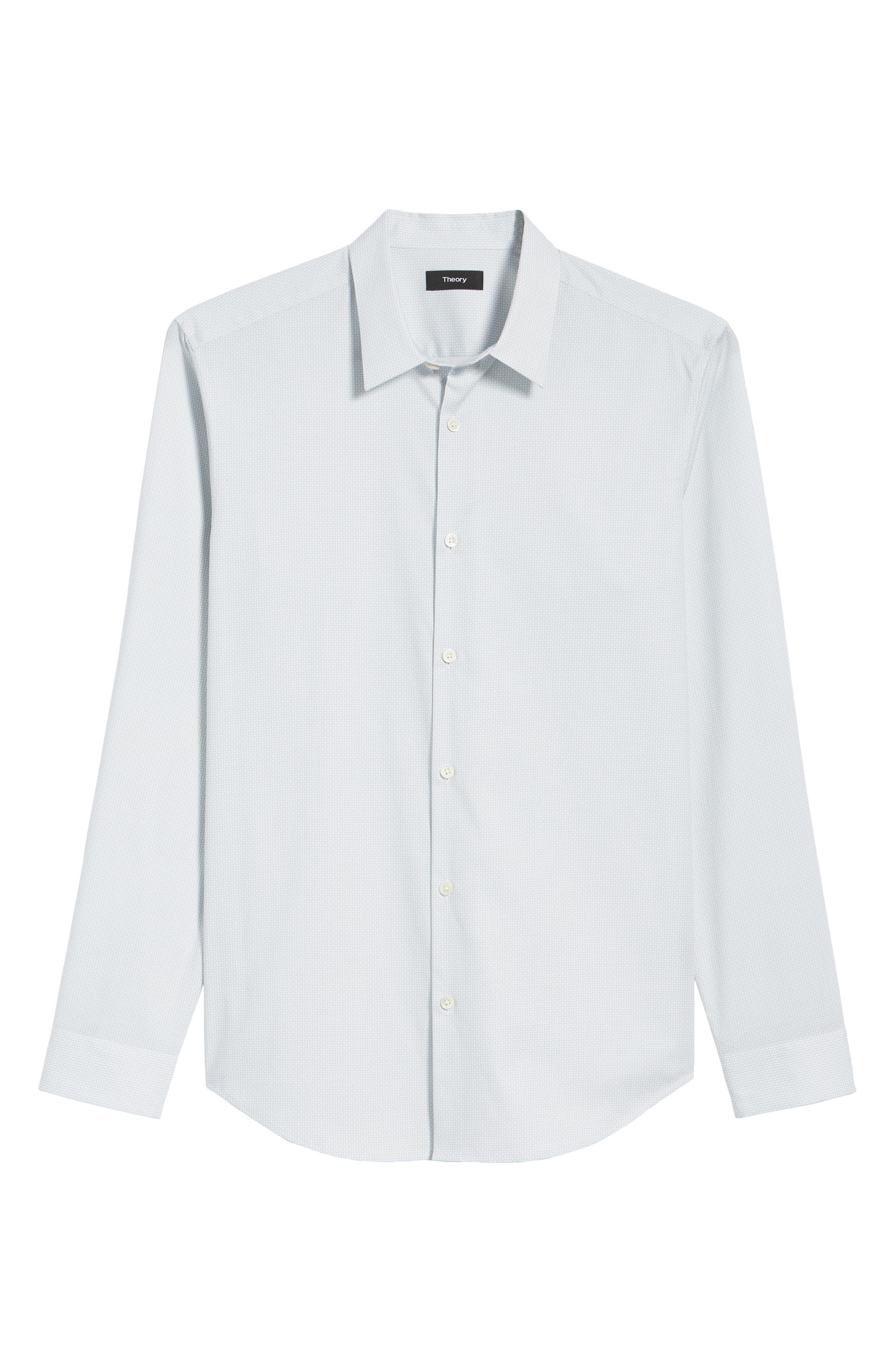 Irving Sillar Slim Fit Sport Shirt,                             Alternate thumbnail 6, color,                             097