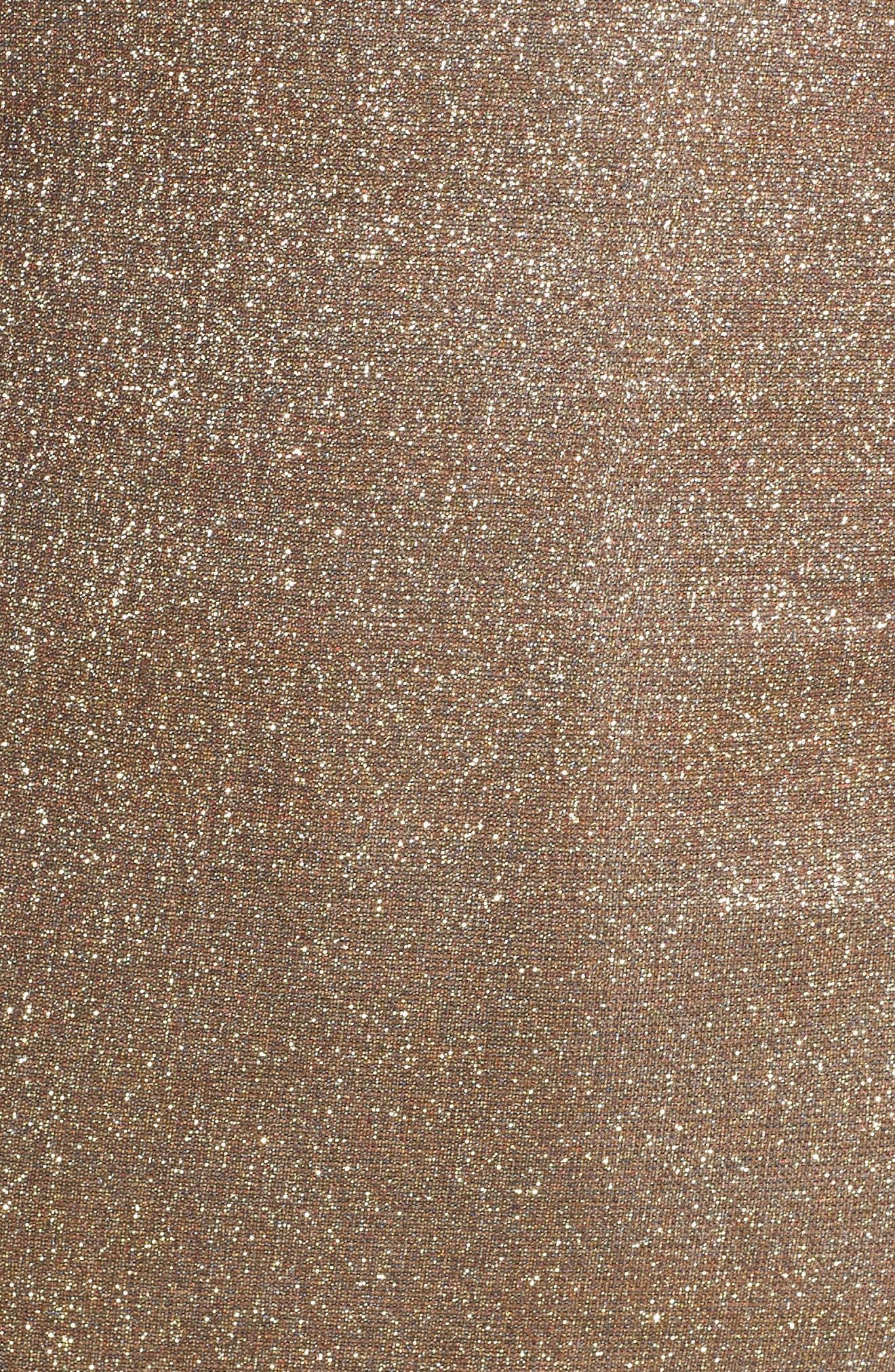 Mimi Sparkle Dress,                             Alternate thumbnail 6, color,                             GOLD