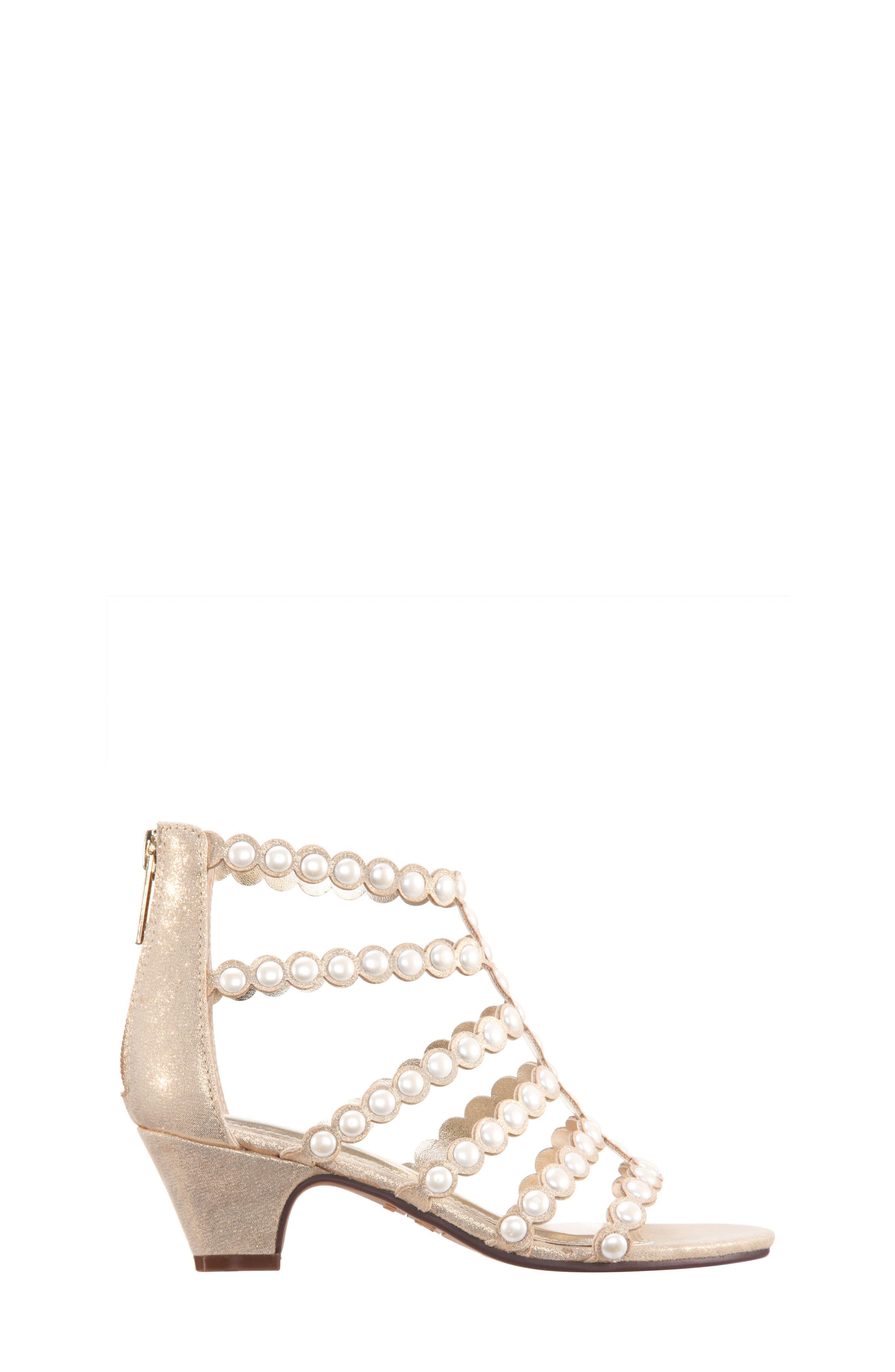 Princess-P Shimmer Sandal,                             Alternate thumbnail 9, color,