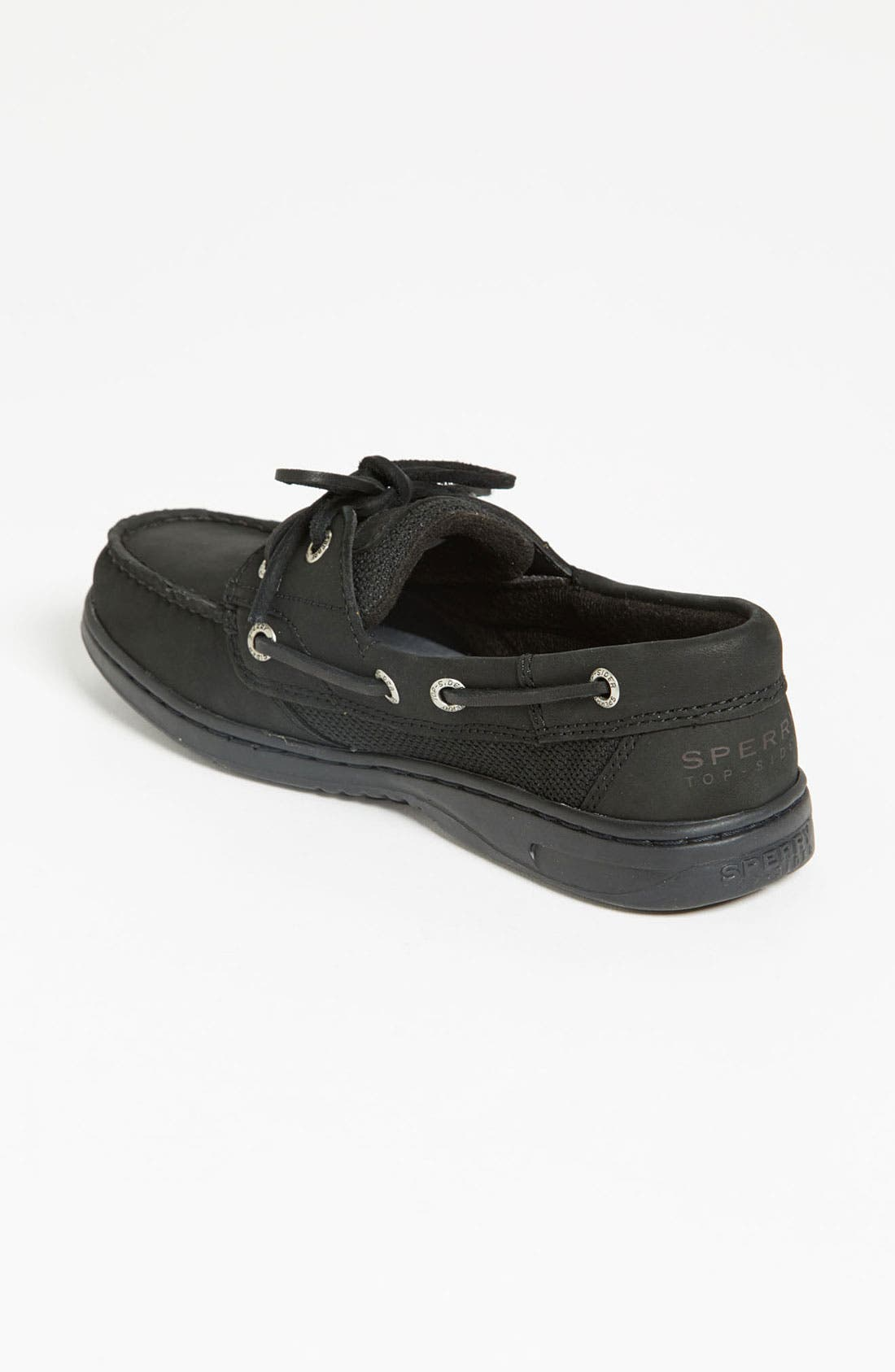 Top-Sider<sup>®</sup> 'Bluefish 2 Eye' Boat Shoe,                             Alternate thumbnail 3, color,                             001