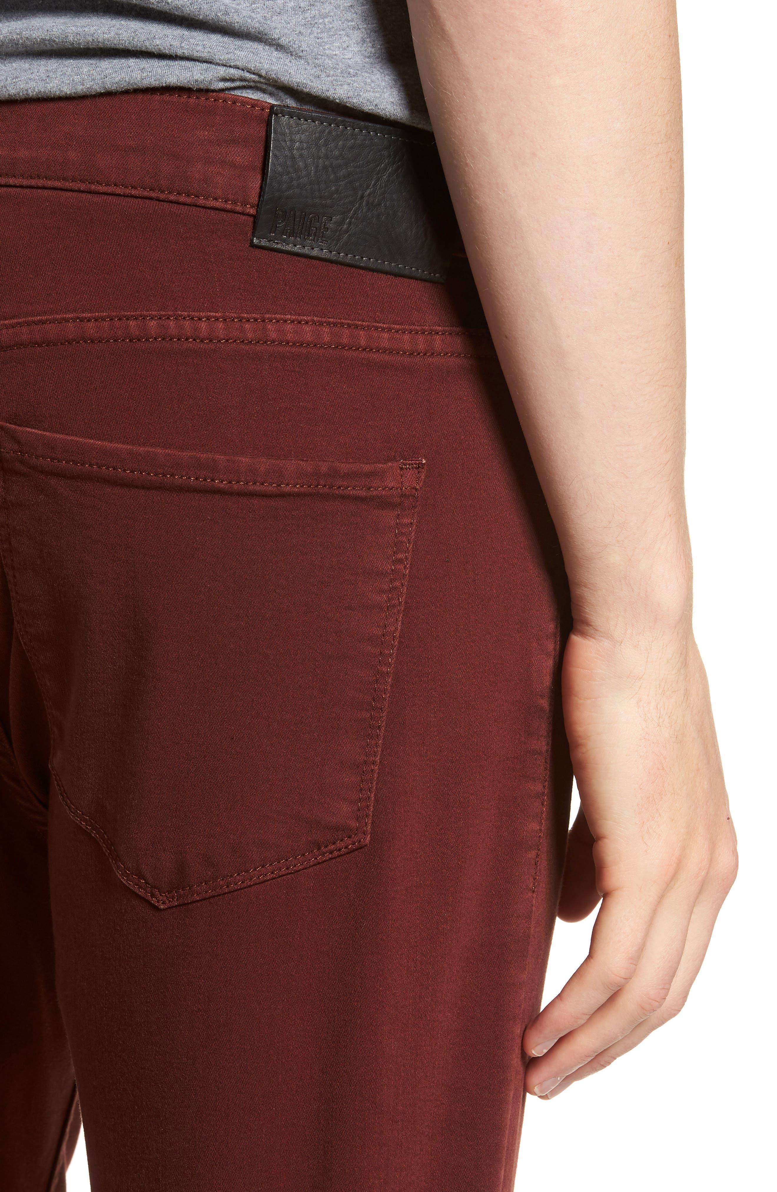 Federal Slim Straight Leg Jeans,                             Alternate thumbnail 4, color,                             600