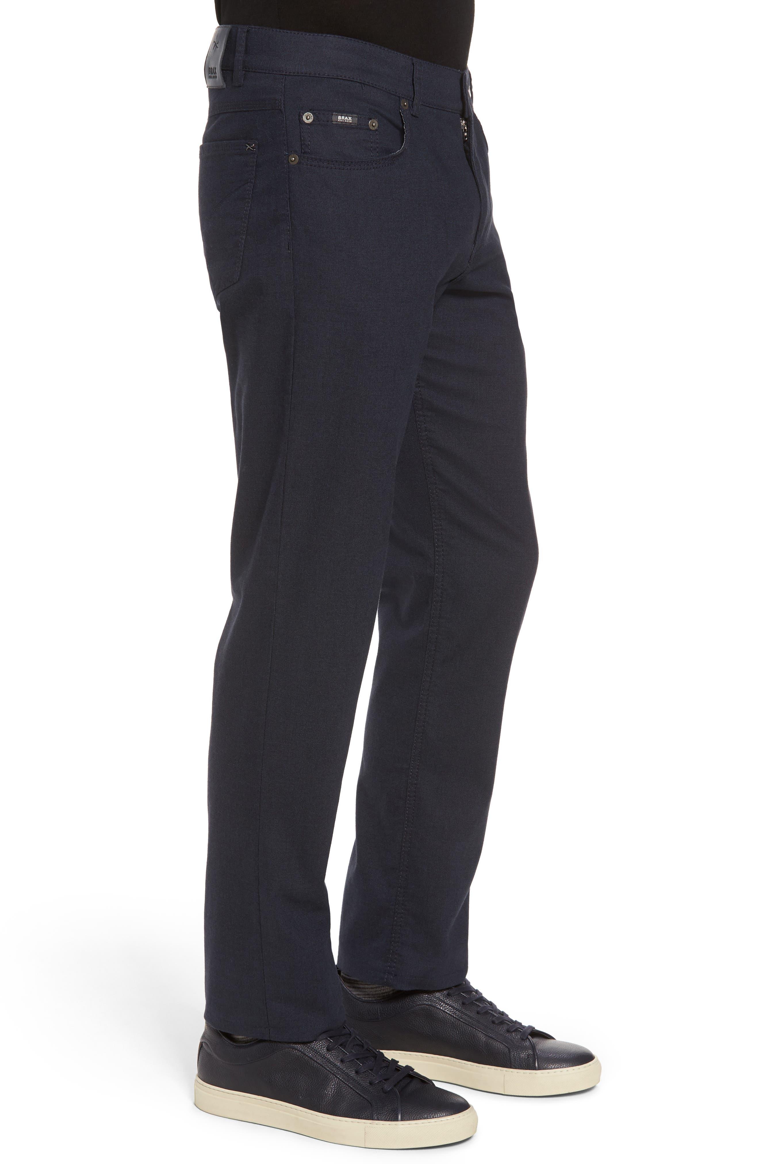 Five-Pocket Stretch Cotton Trousers,                             Alternate thumbnail 12, color,