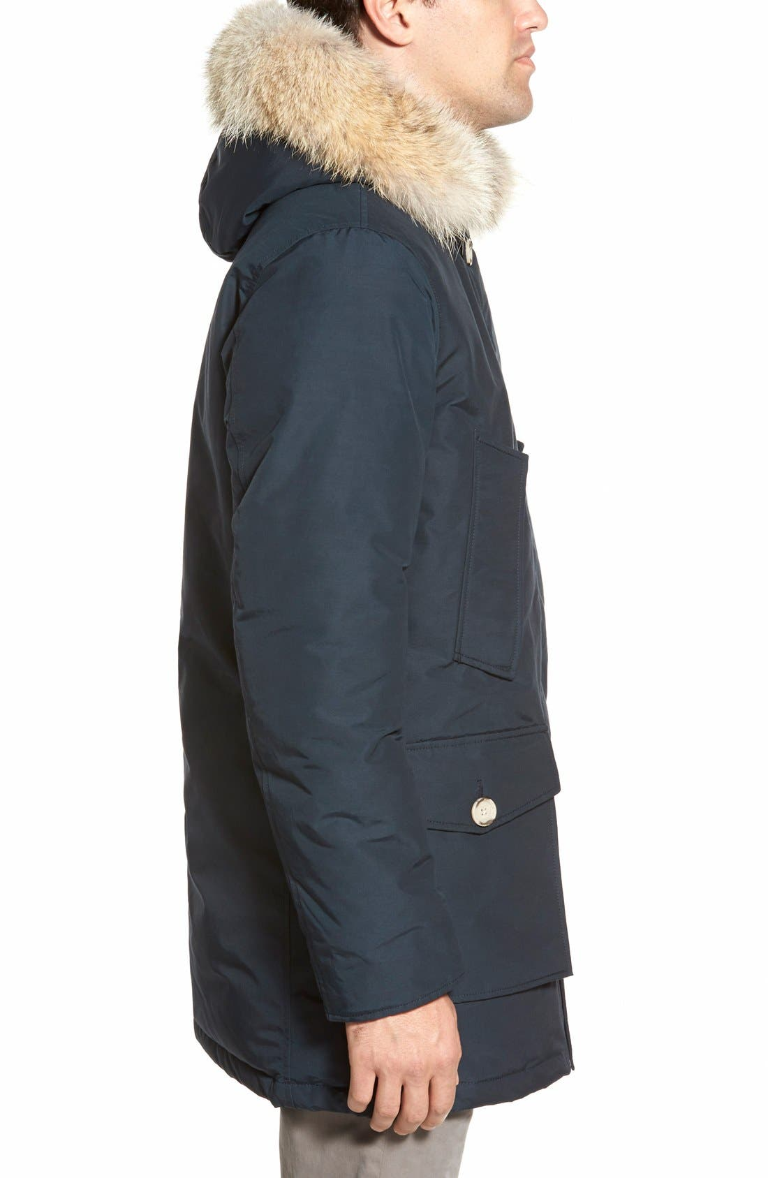 John Rich & Bros. Arctic Parka with Genuine Coyote Fur Trim,                             Alternate thumbnail 26, color,
