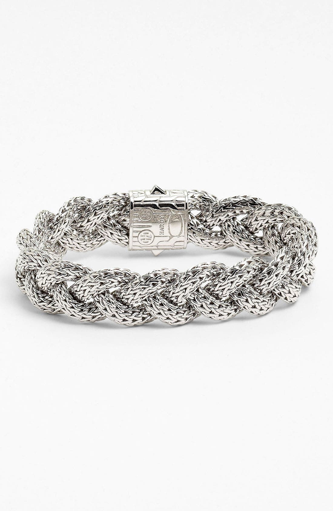 'Classic Chain' Medium Braided Bracelet,                             Alternate thumbnail 7, color,
