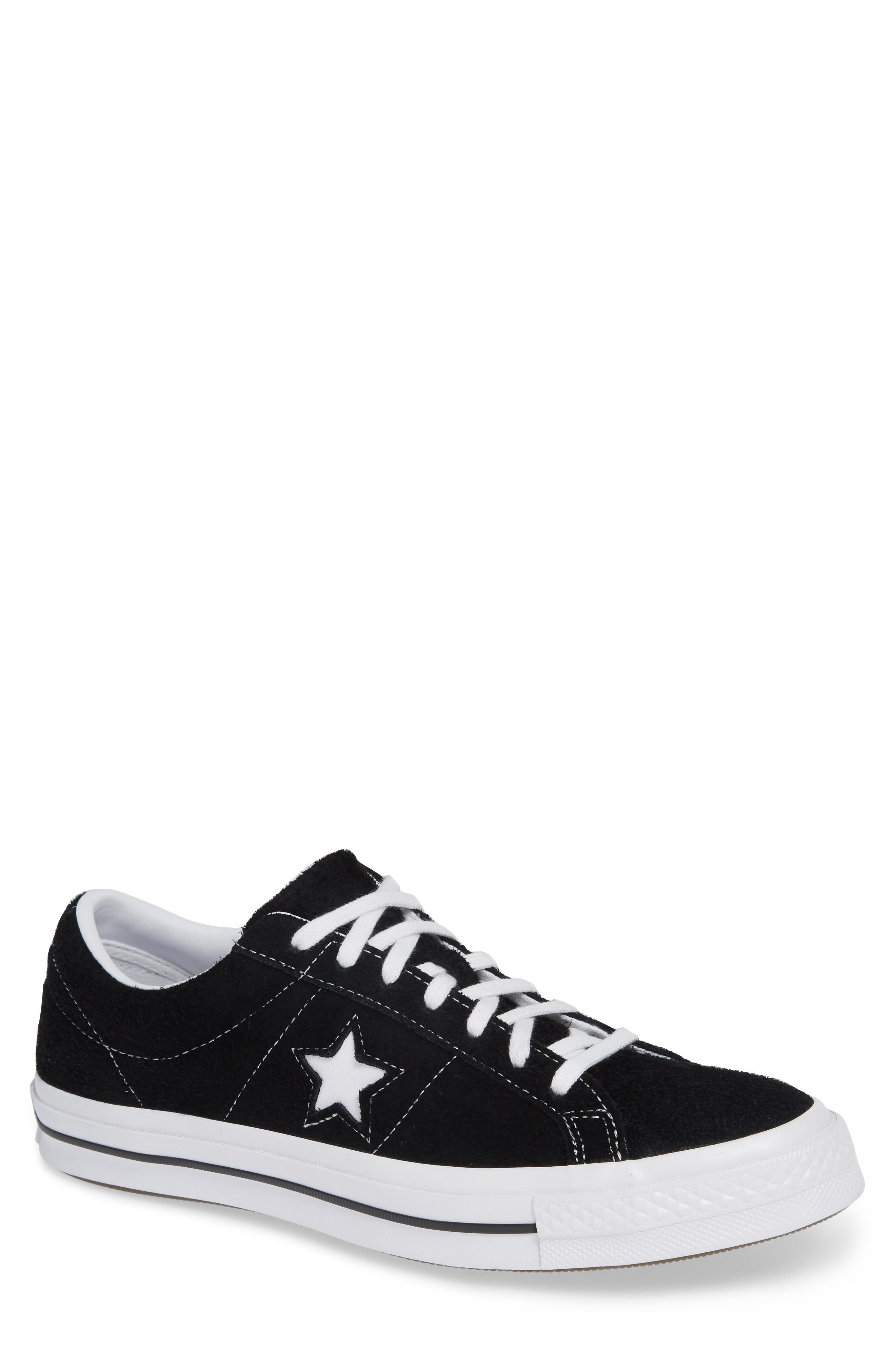 One Star Low Top Sneaker,                             Main thumbnail 1, color,                             001