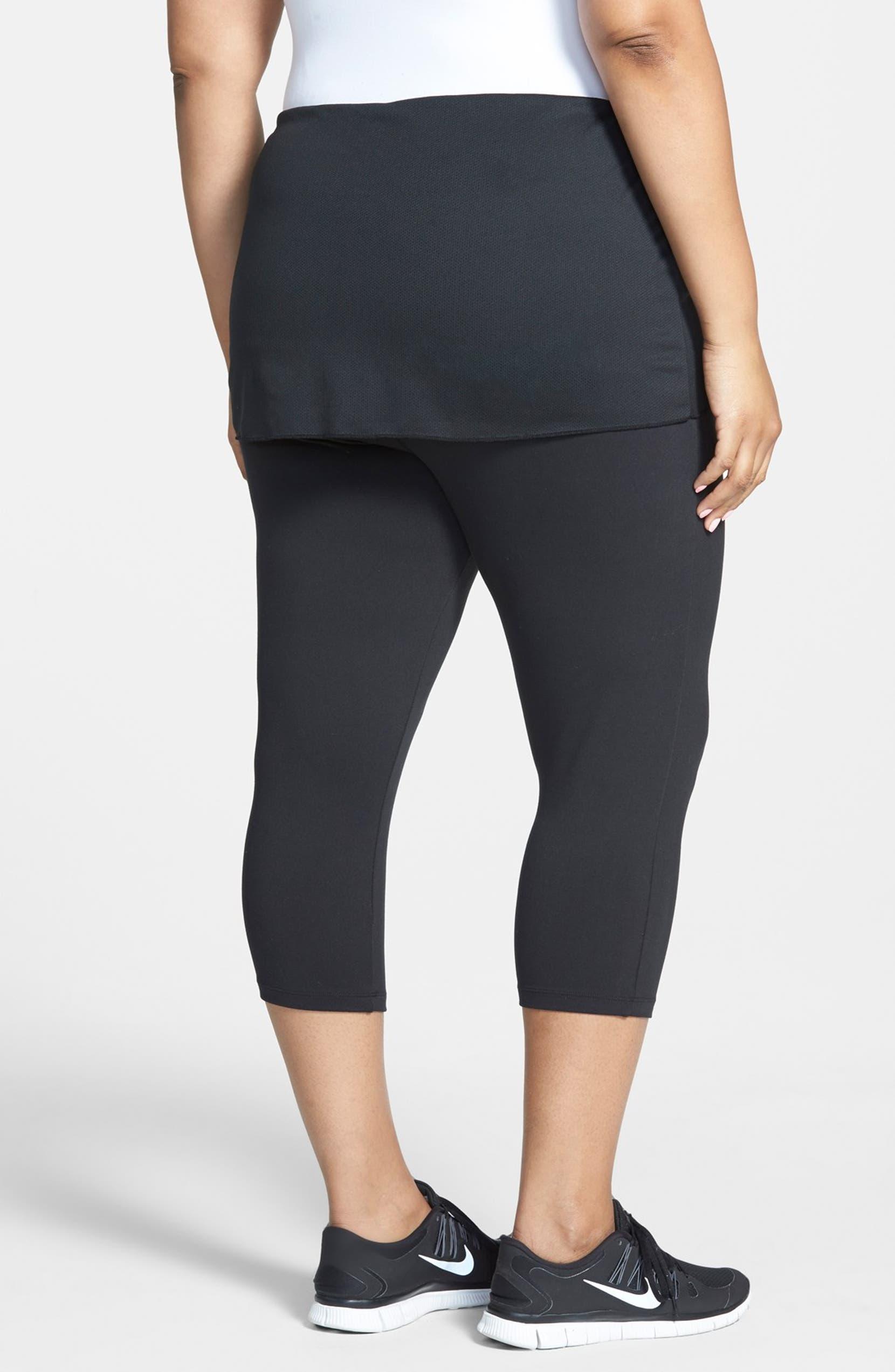 d22debd2ee9 Marika Curves  Alice  Skirted Capri Leggings (Plus Size)
