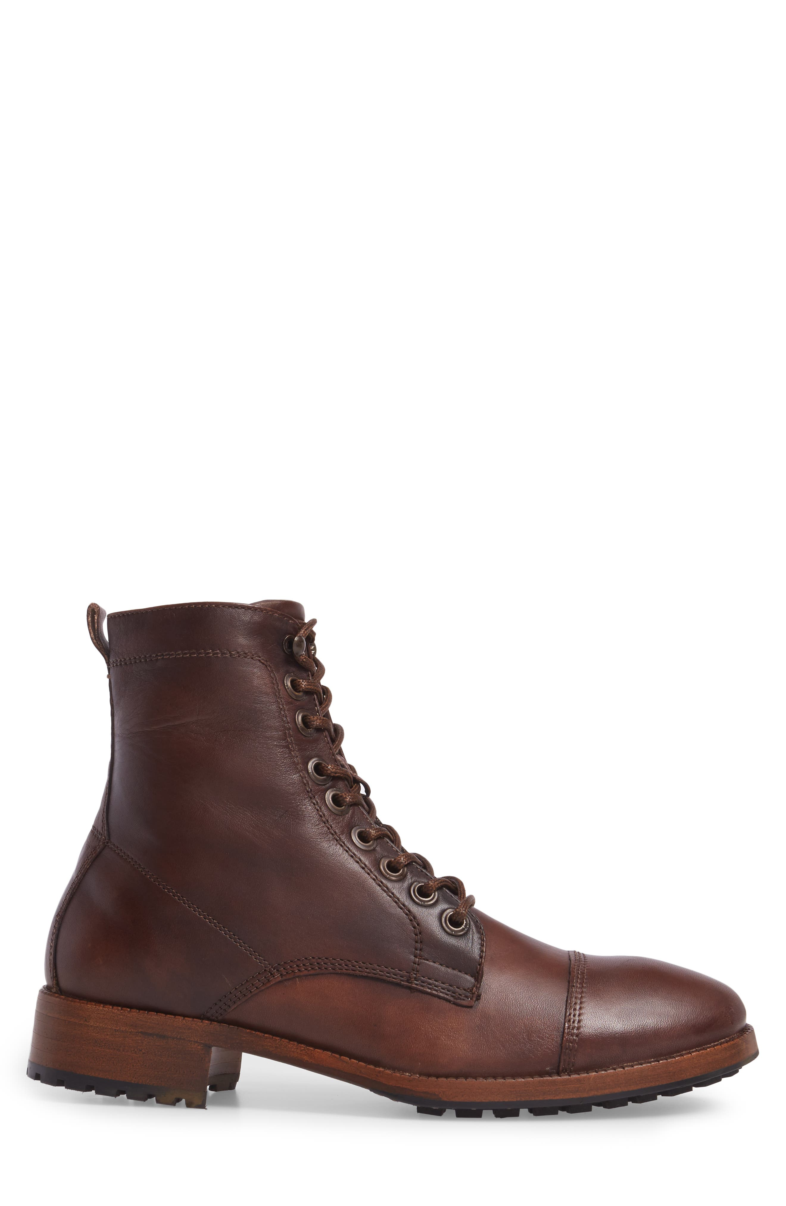 x GQ Ted Cap Toe Boot,                             Alternate thumbnail 3, color,                             200