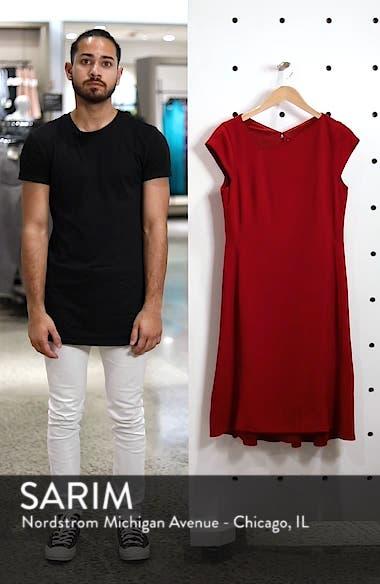 Asymmetrical Neck Fit & Flare Dress, sales video thumbnail