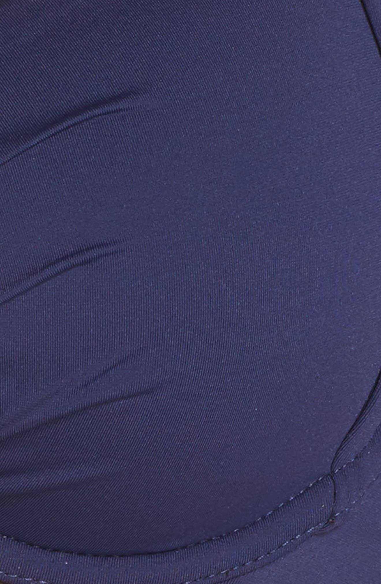 Underwire Halter Bikini Top,                             Alternate thumbnail 5, color,                             MARE NAVY