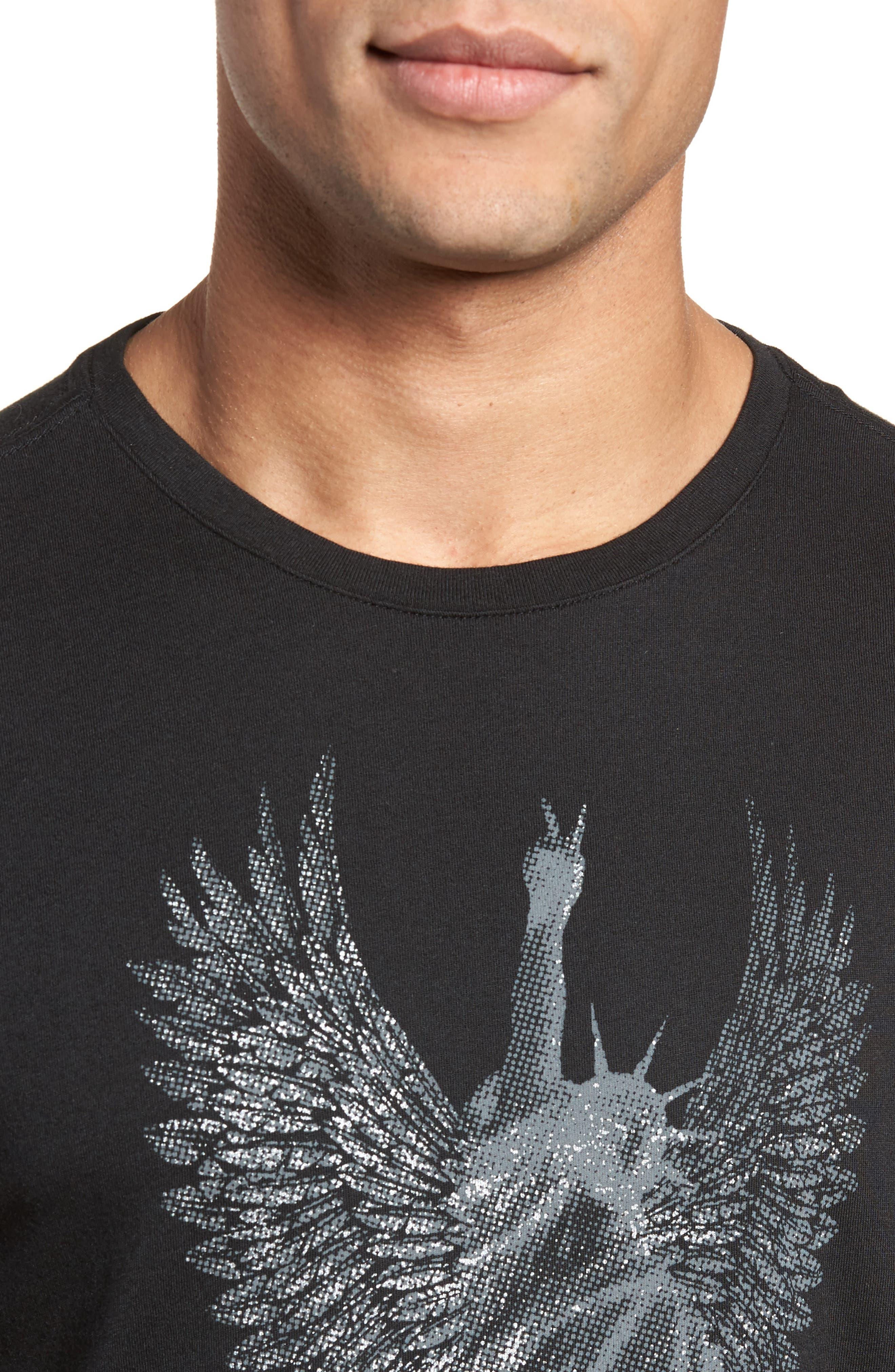 Liberty Wings Graphic T-Shirt,                             Alternate thumbnail 4, color,