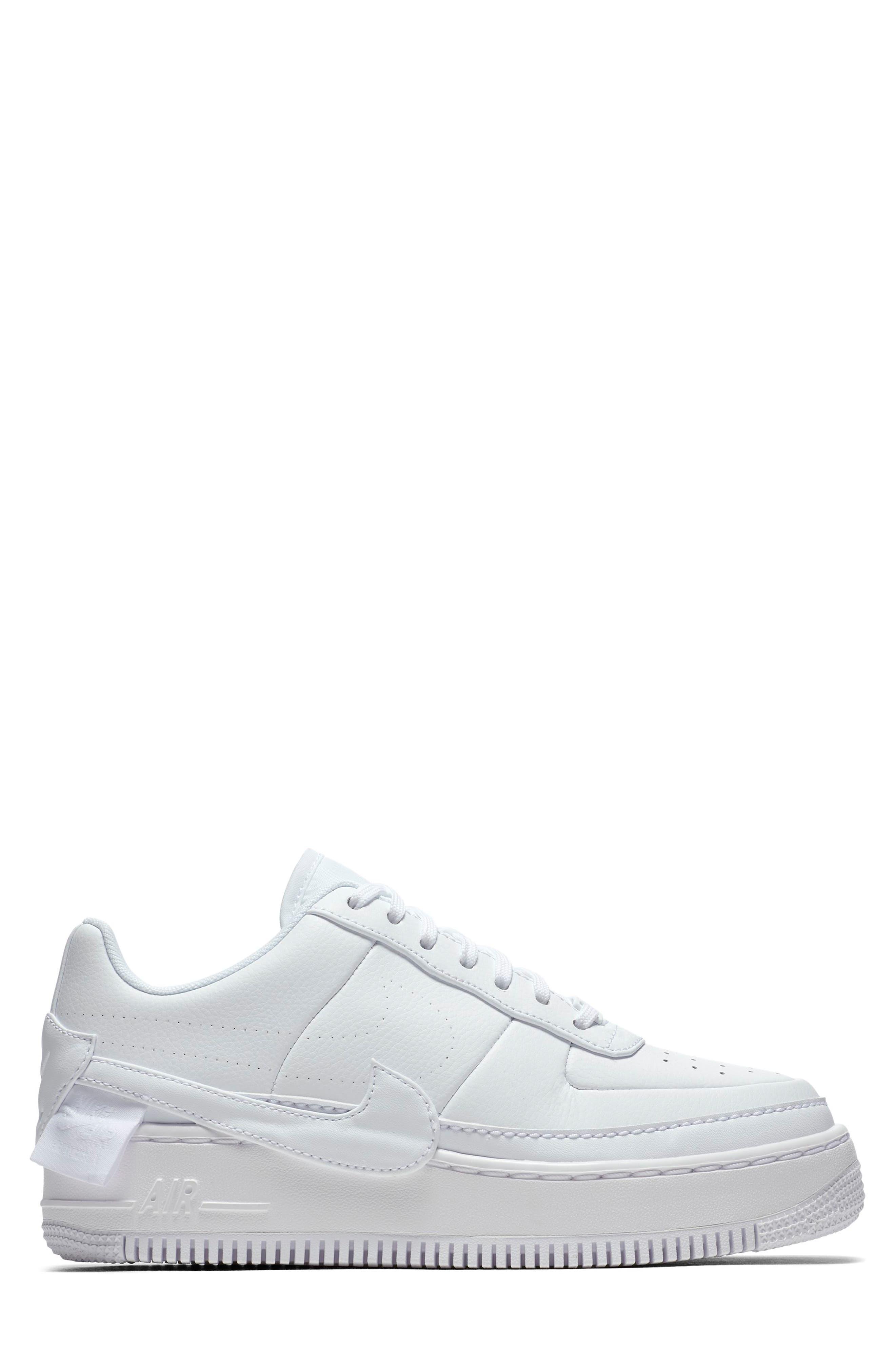 Air Force 1 Jester XX Sneaker,                             Alternate thumbnail 3, color,                             WHITE/ WHITE-BLACK