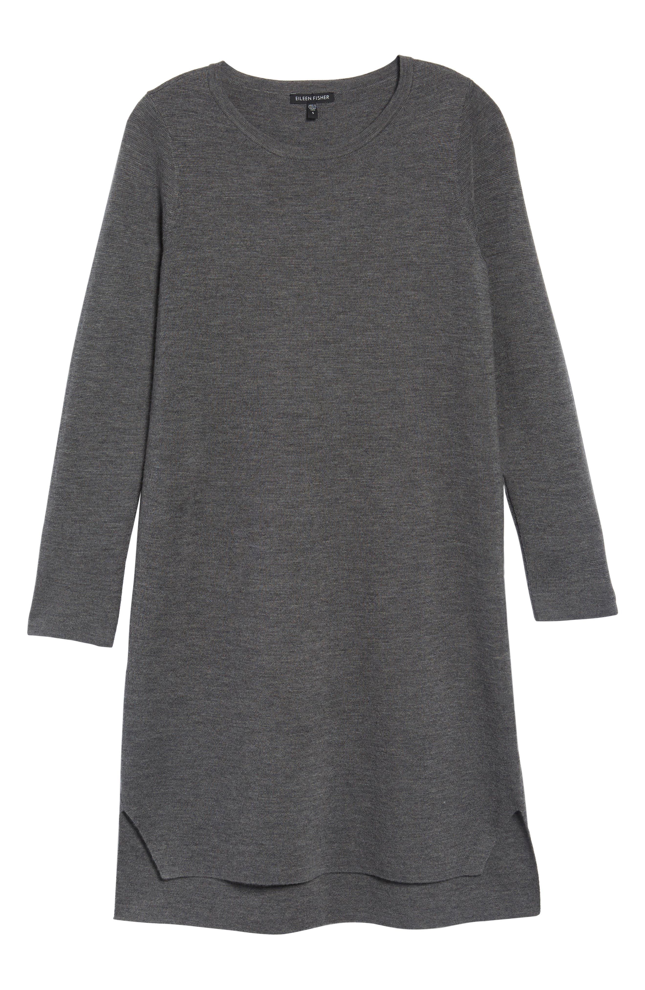 Merino Wool Sweater Dress,                             Alternate thumbnail 23, color,