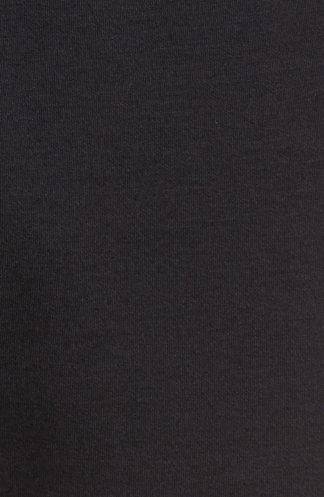Tech Interlock Knit Pant,                             Alternate thumbnail 5, color,                             001