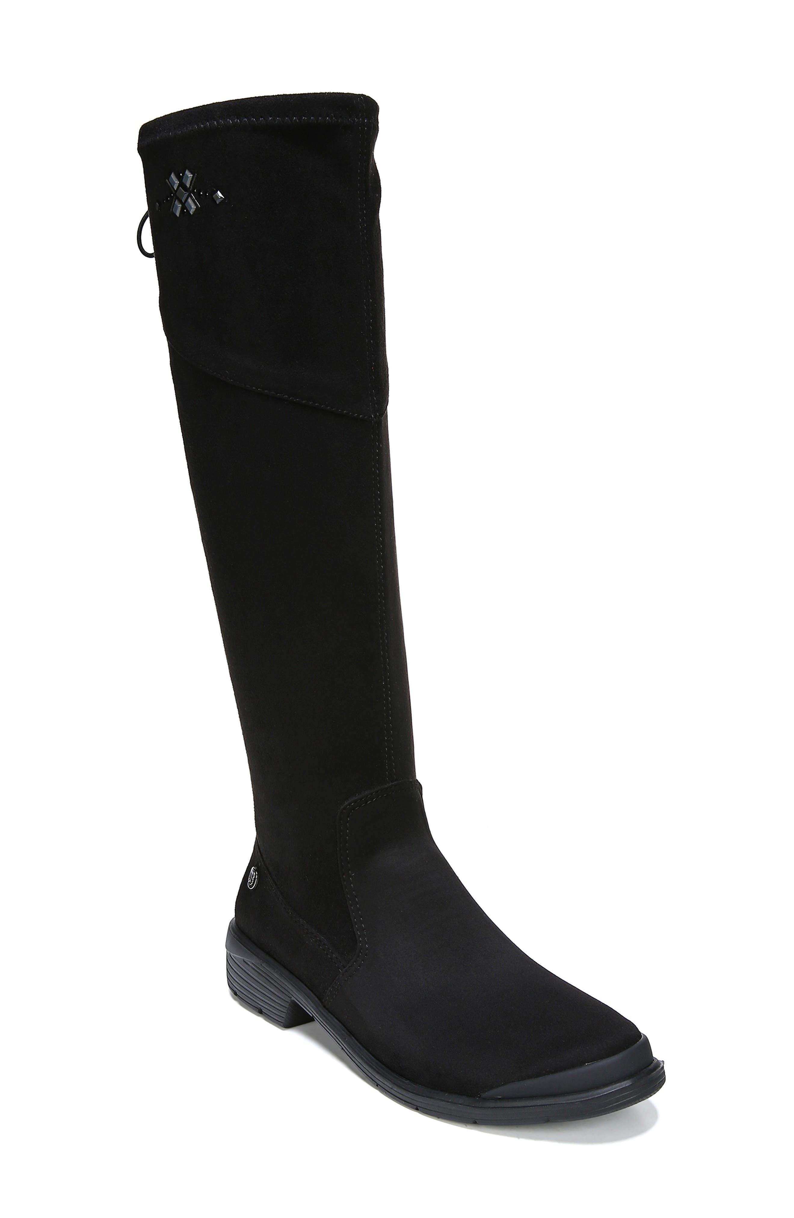 Boomerang Boot,                             Main thumbnail 1, color,                             BLACK FABRIC