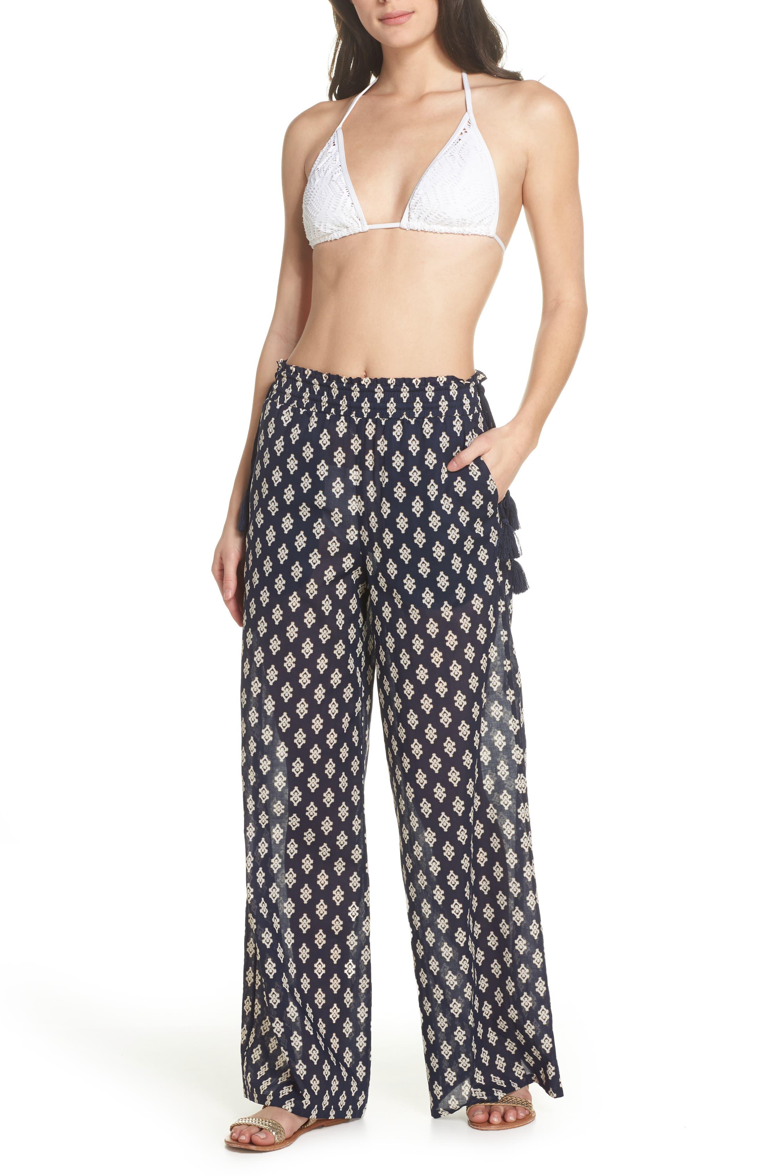 Double Diamond Cover-Up Pants,                         Main,                         color, 487