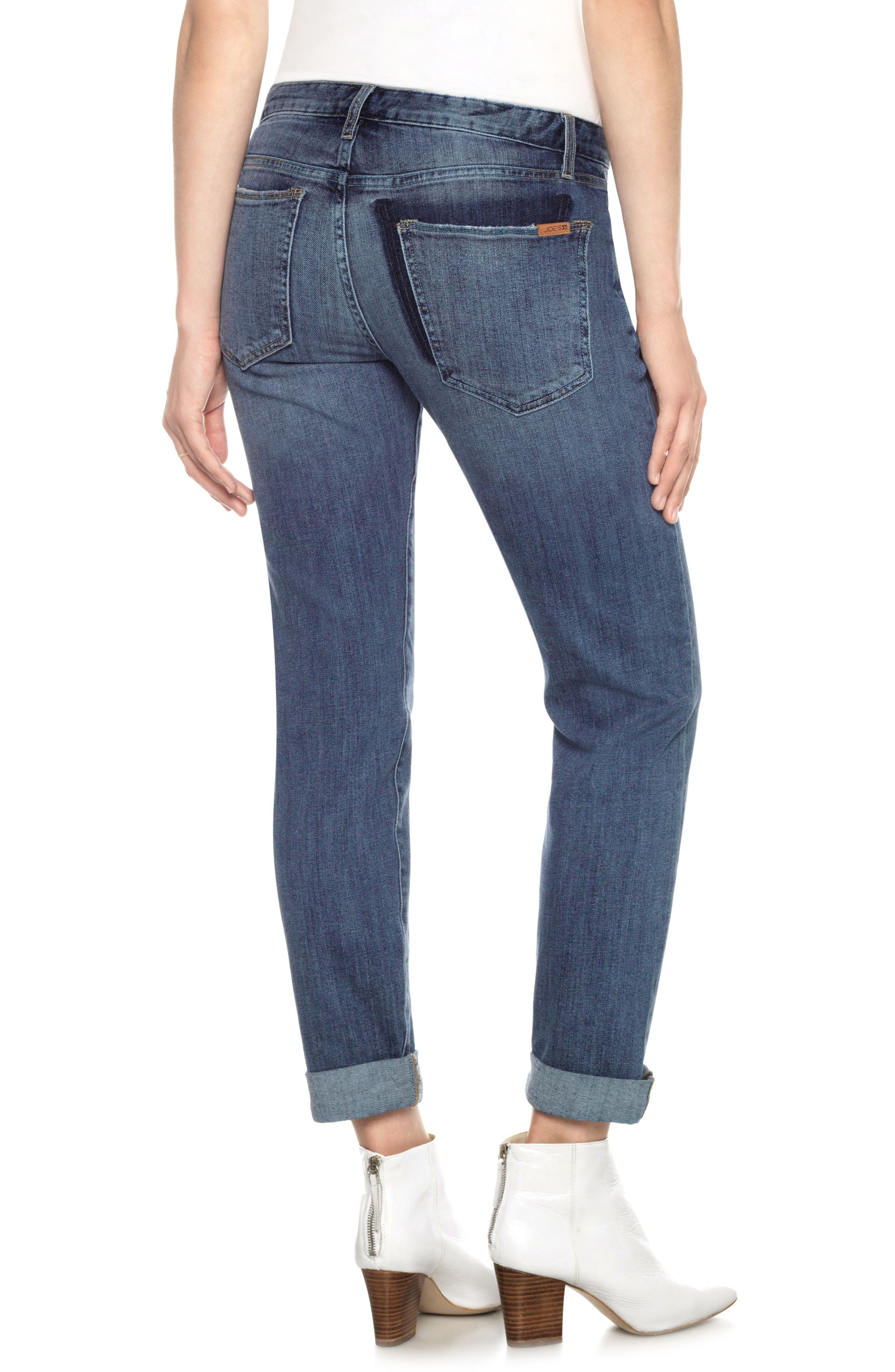 The Smith Wild One Ankle Jeans,                             Alternate thumbnail 2, color,