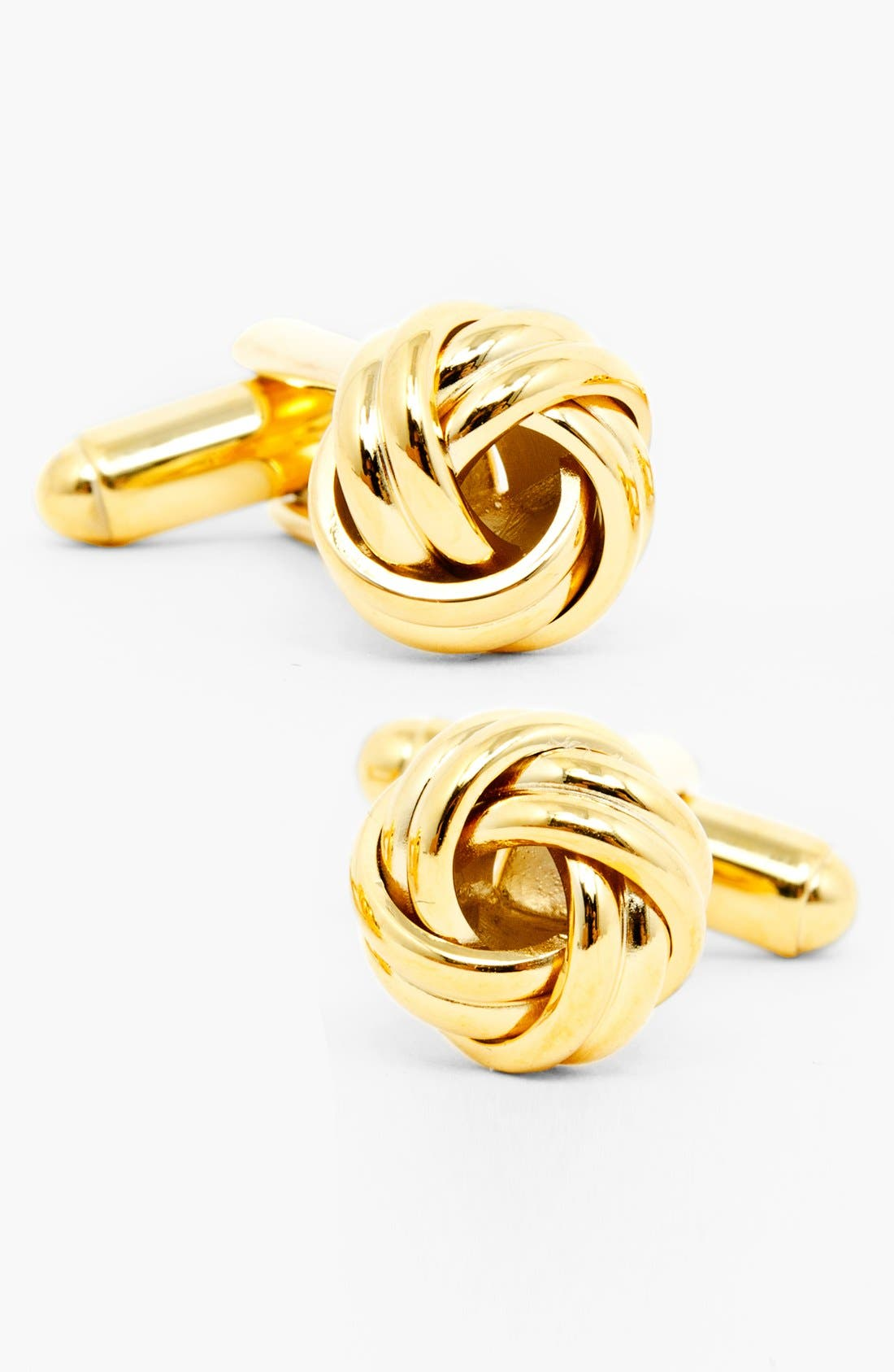 Knot Cuff Links,                         Main,                         color, GOLD