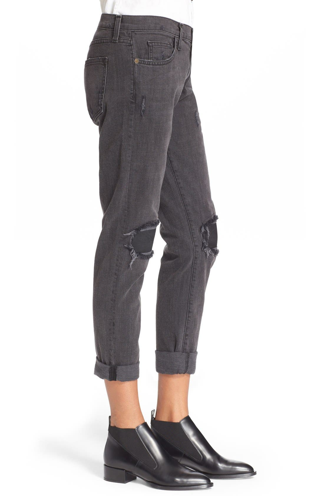 'The Fling' Boyfriend Jeans,                             Alternate thumbnail 8, color,