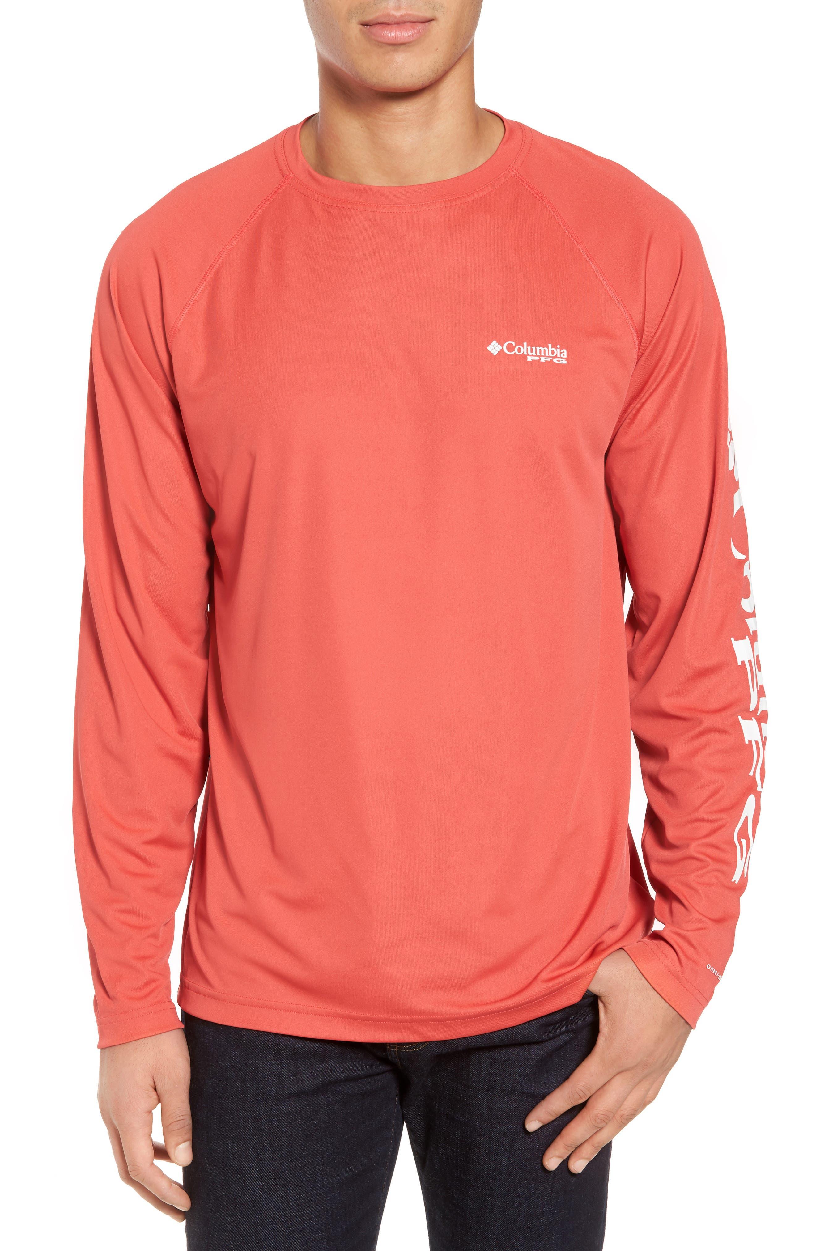 PFG Terminal Tackle Performance Long Sleeve T-Shirt,                             Main thumbnail 4, color,