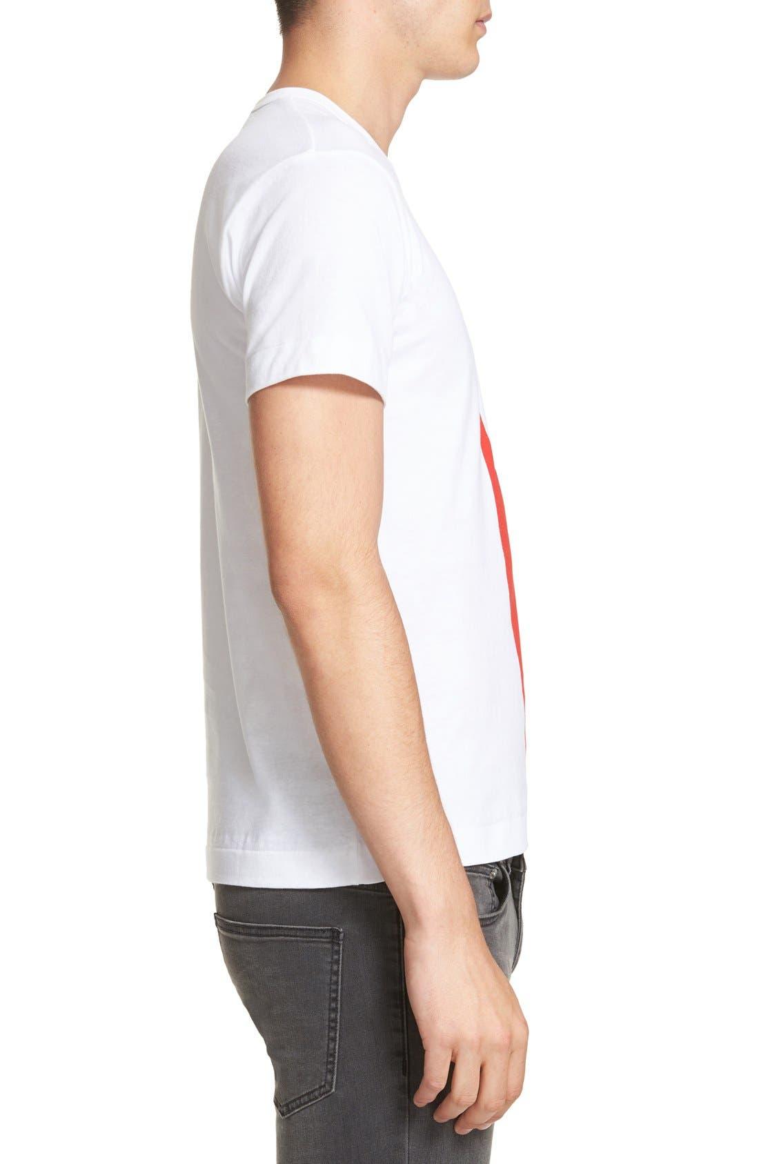 Graphic T-Shirt,                             Alternate thumbnail 4, color,                             WHITE
