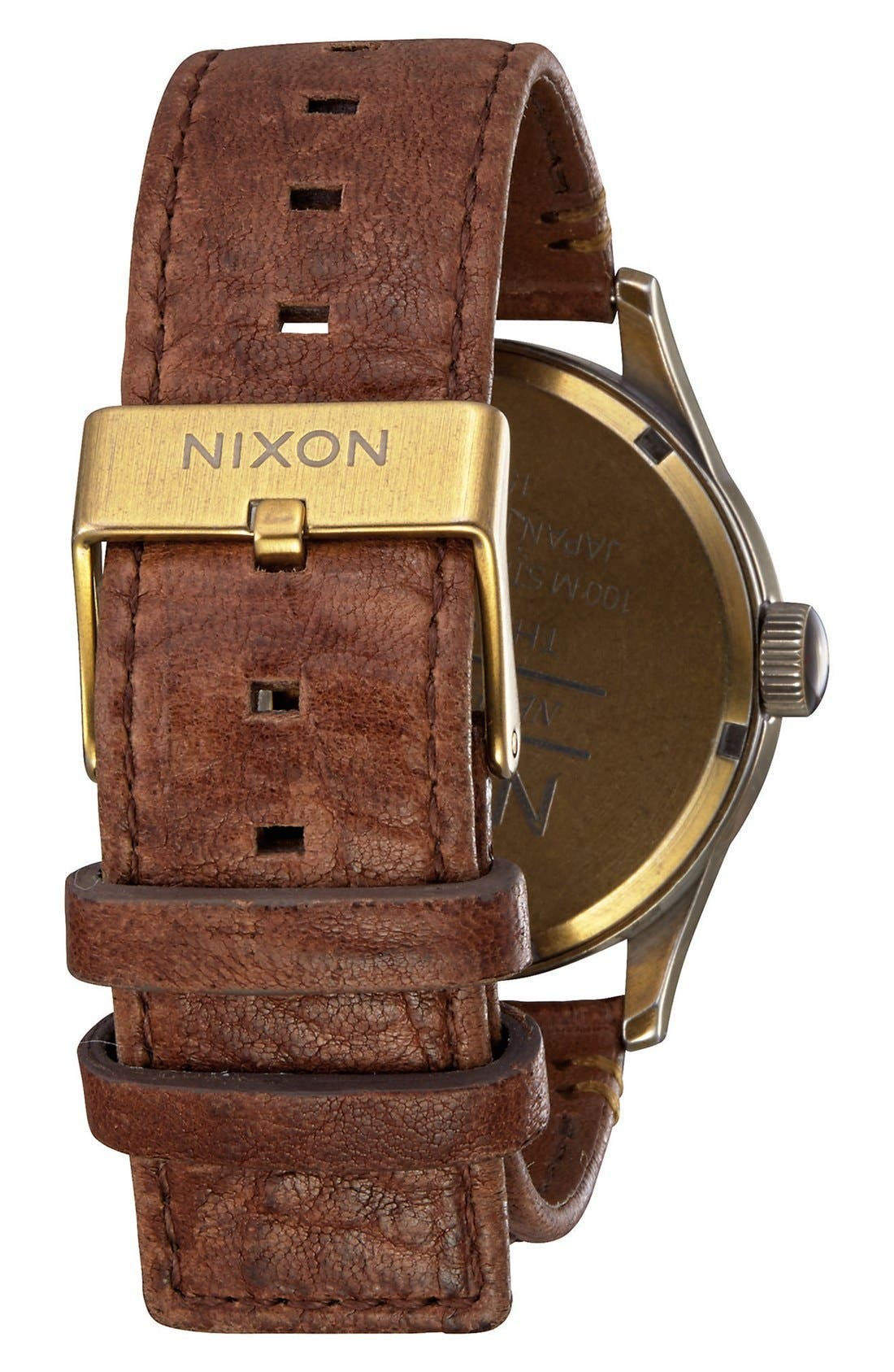 The Sentry Leather Strap Watch, 42mm,                             Alternate thumbnail 83, color,