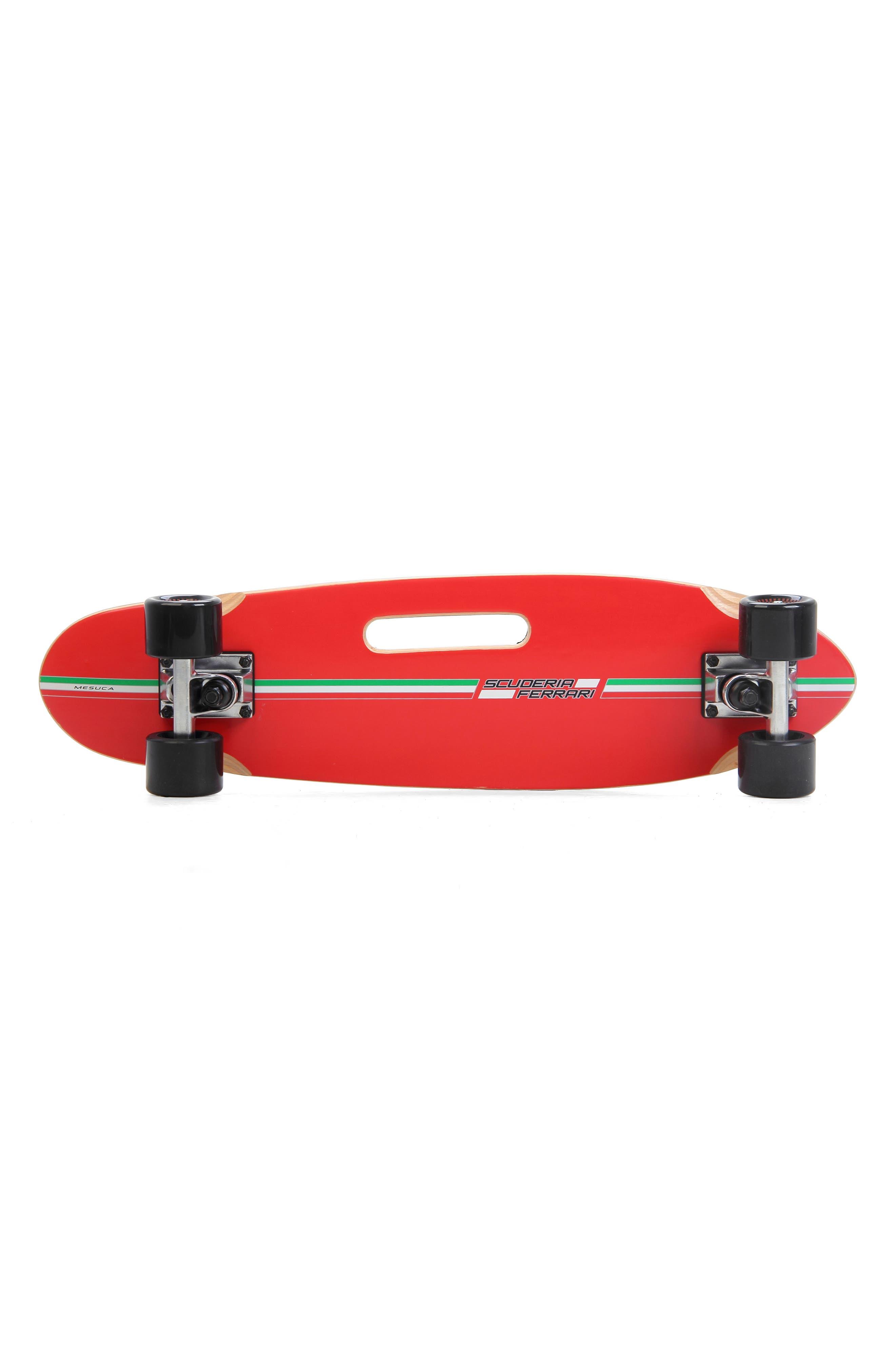Cruiser Skateboard,                             Alternate thumbnail 2, color,                             FERRARI BLACK