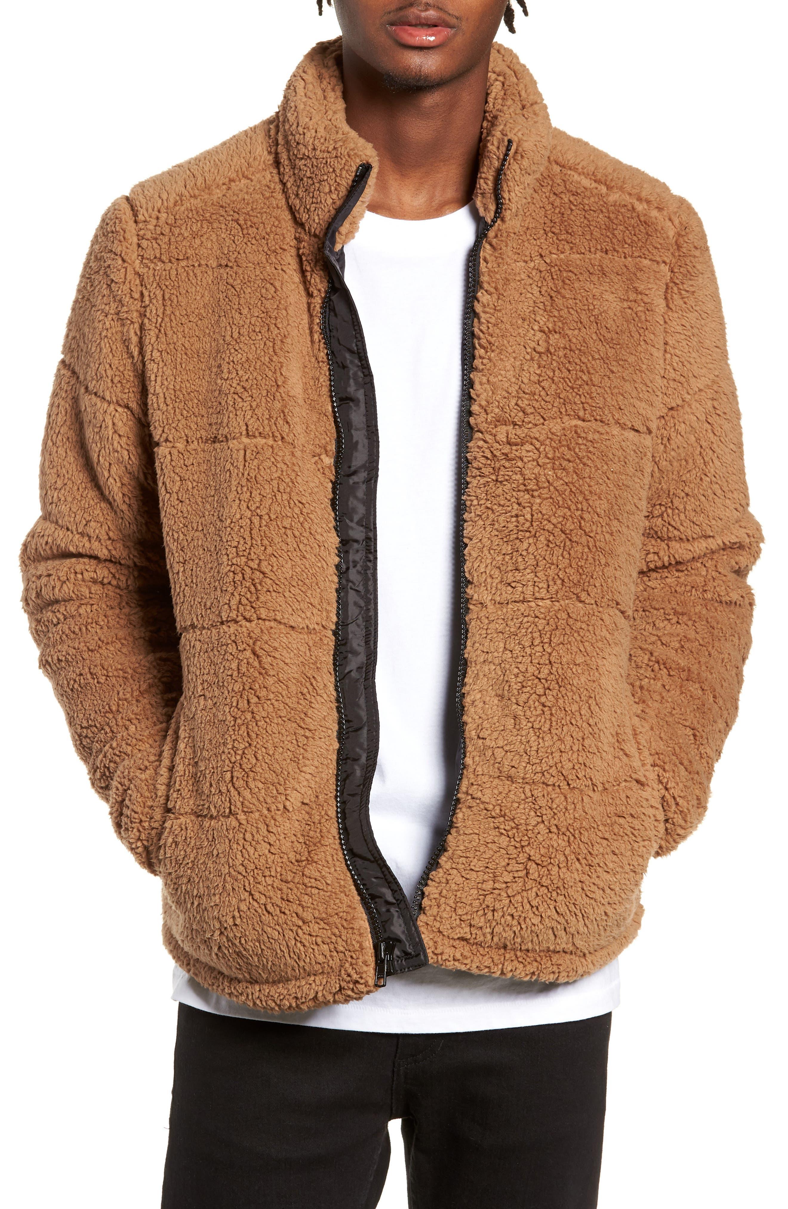 The Rail Fleece Jacket, Brown