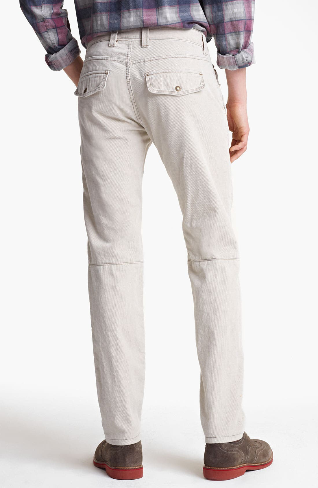 'Explorer' Slim Leg Corduroy Pants,                             Alternate thumbnail 3, color,                             034