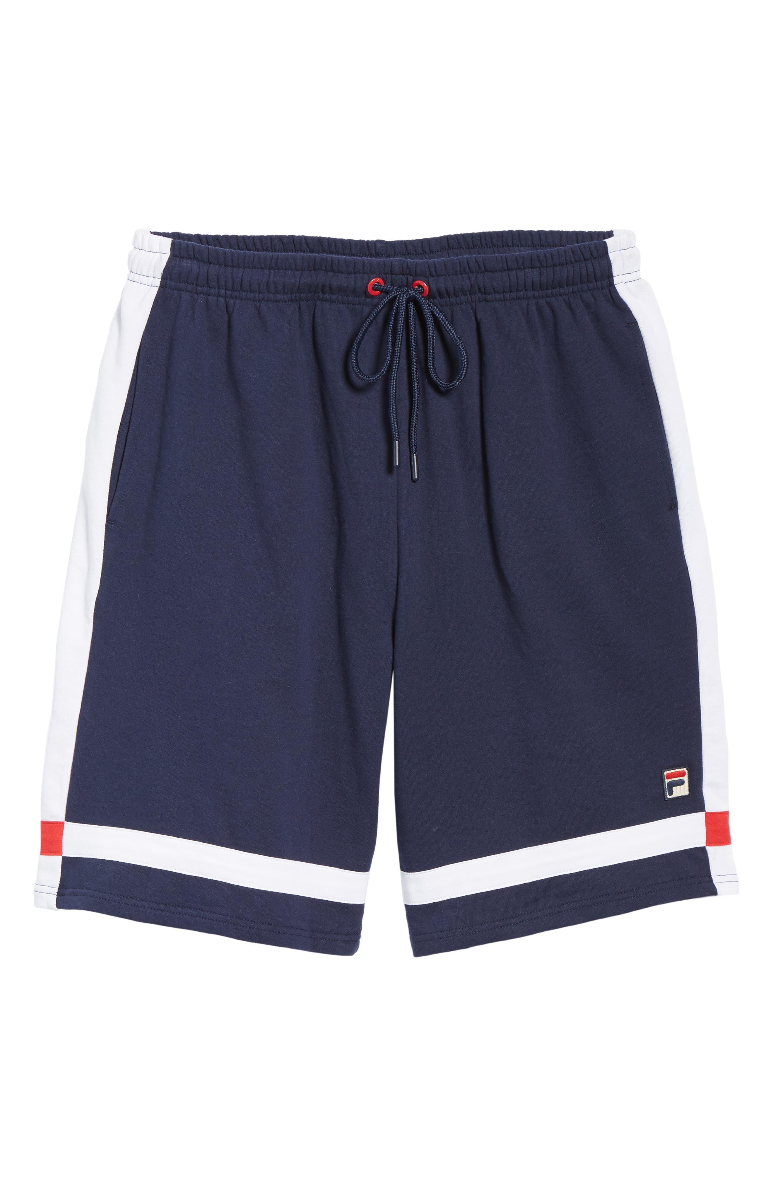 Striped Athletic Shorts,                             Alternate thumbnail 6, color,                             410