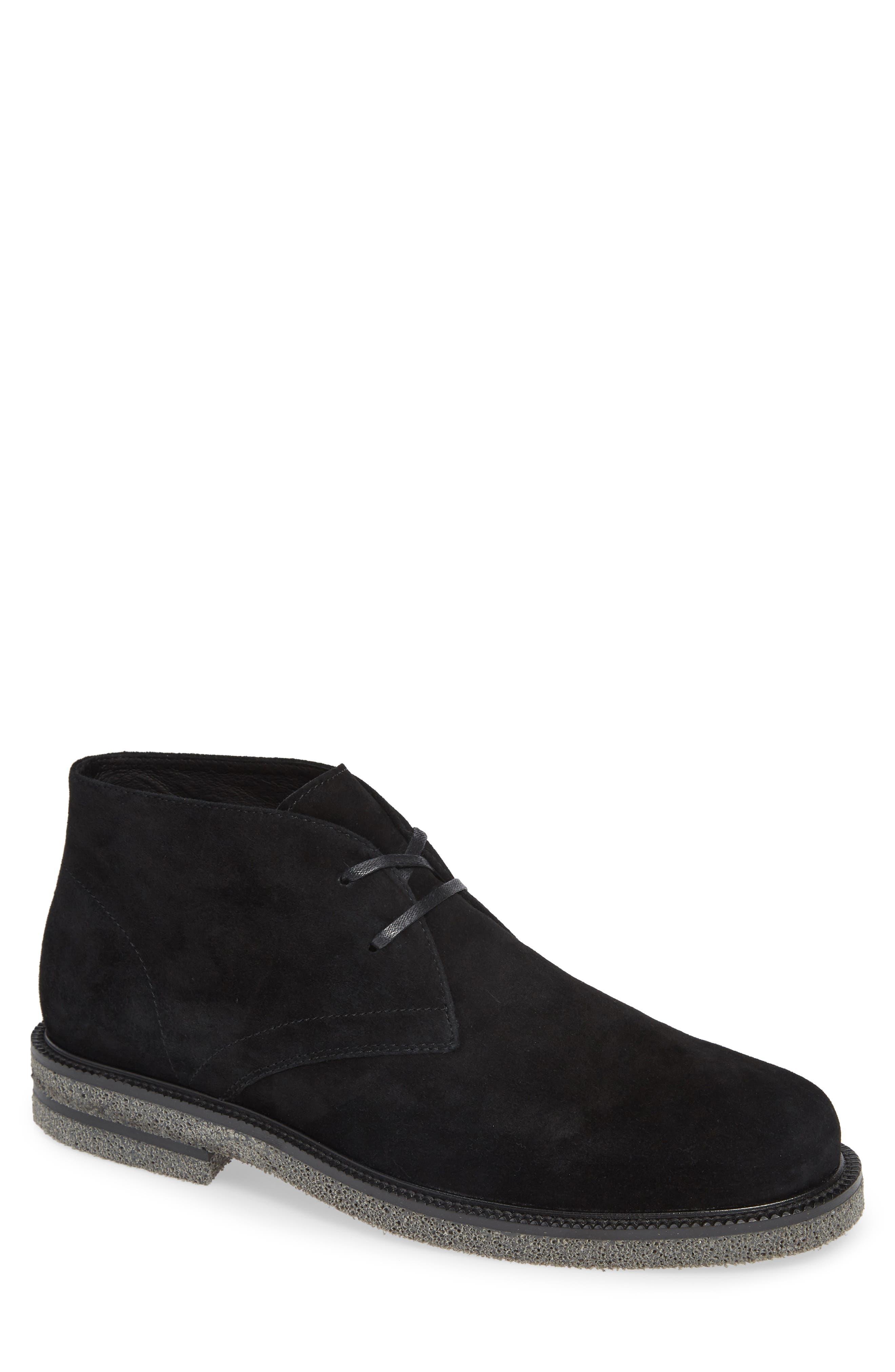 Levi Chukka Boot,                         Main,                         color, BLACK